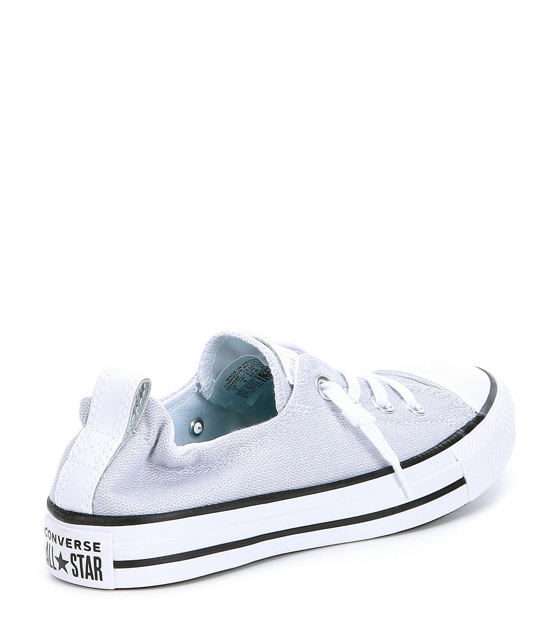 2fb30debc692c2 Converse - White Chuck Taylor All Star Shoreline Slip On Sneakers - Lyst.  View fullscreen