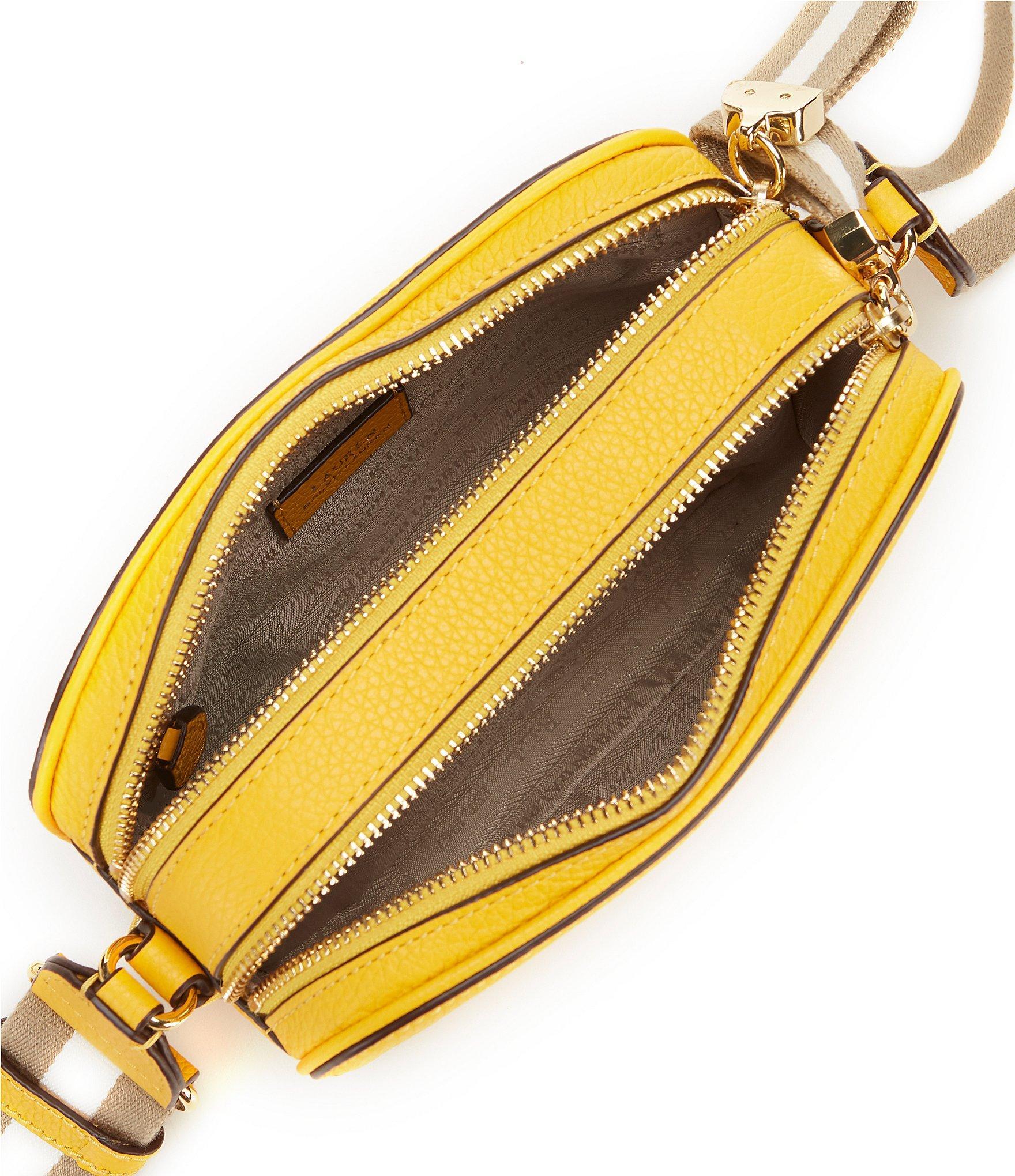 Lauren by Ralph Lauren - Yellow Cross-body Bag - Lyst. View fullscreen 028ac16b79