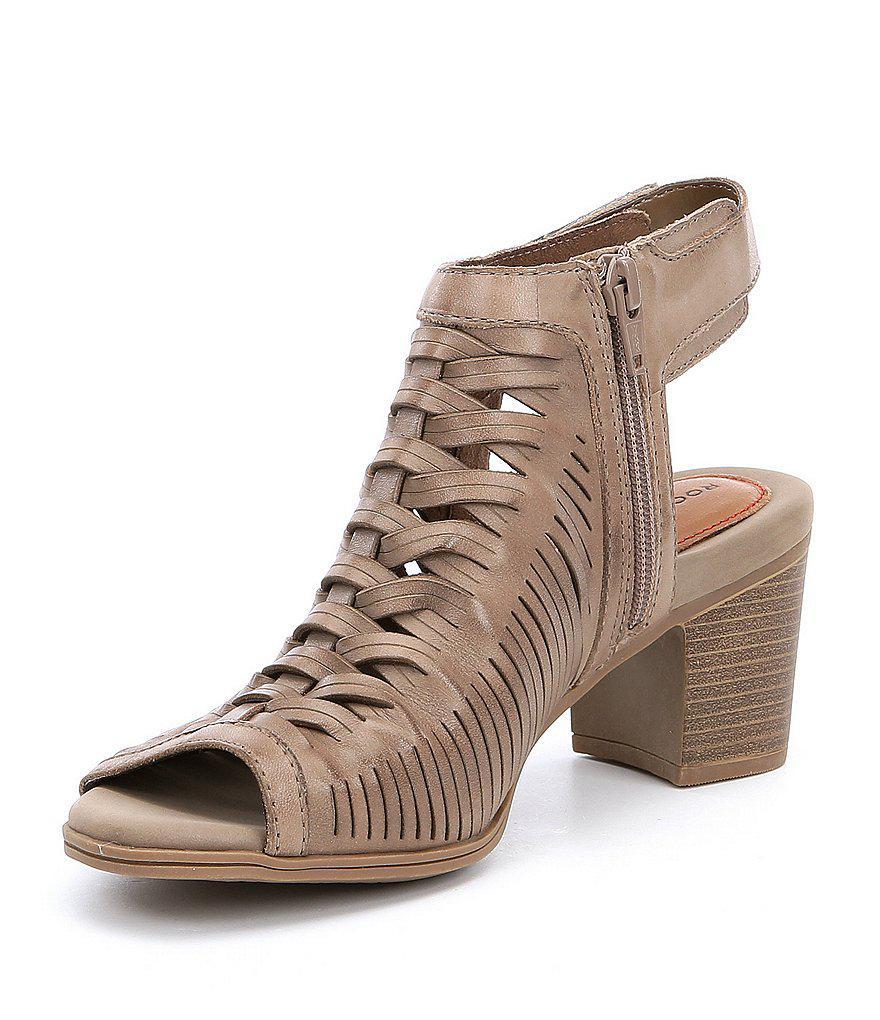 Hattie Braided Block Heel Sandals oRR6jYdiO1