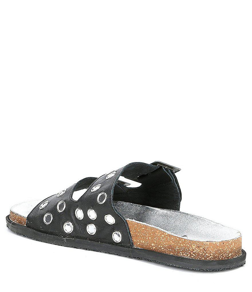 Bali Buckle Footbed Sandals