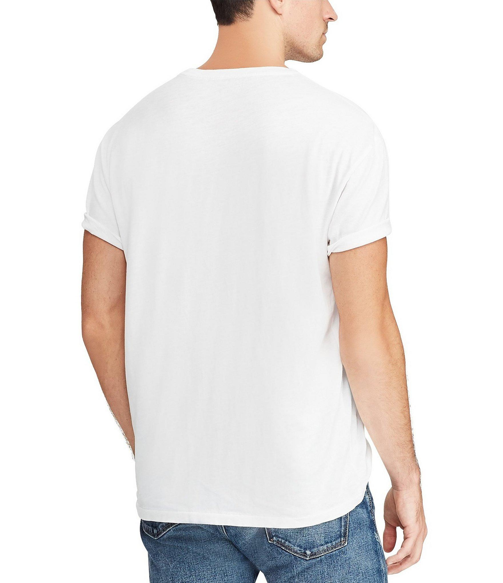 bff0595e9 Polo Ralph Lauren - White L s Sportsmen Respect Wildlife Tee for Men - Lyst.  View fullscreen