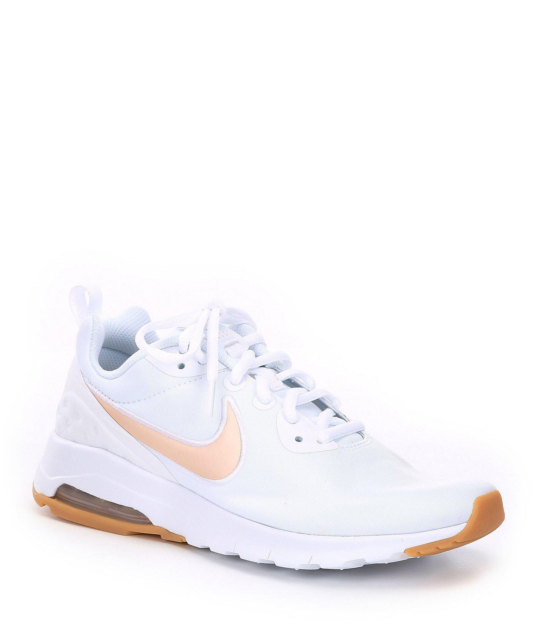 best sneakers f1263 8585d Nike Women s Air Max Motion Lifestyle Shoes in White - Lyst