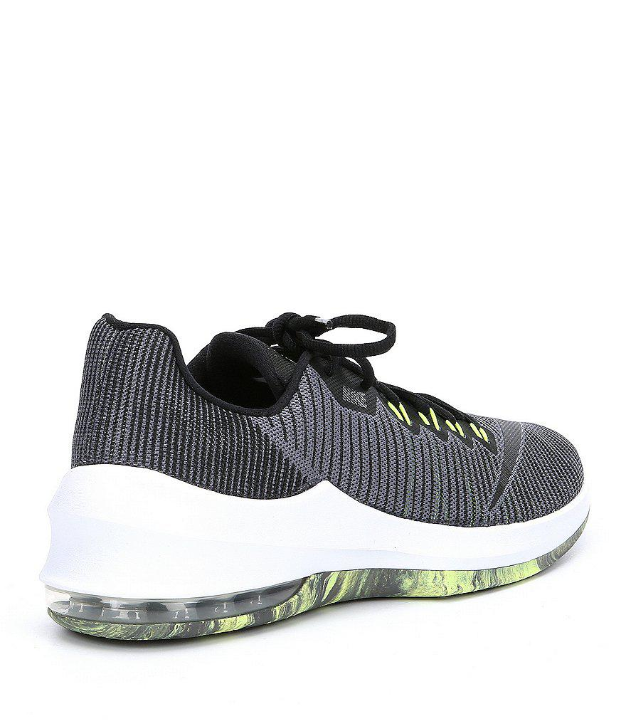 new style 008f1 ca0ea Nike Men s Air Max Infuriate 2 Low Basketball Shoes in Gray for Men ...
