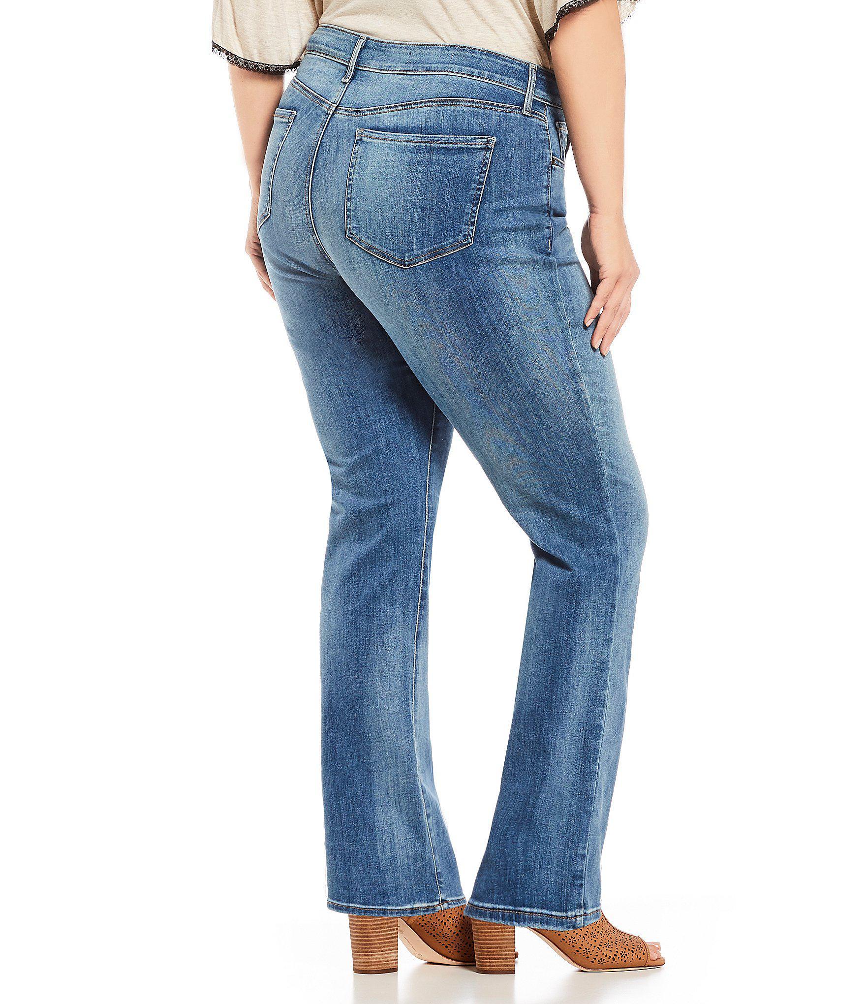 02276772500 ... Plus Size Marilyn Straight Leg Jeans - Lyst. View fullscreen