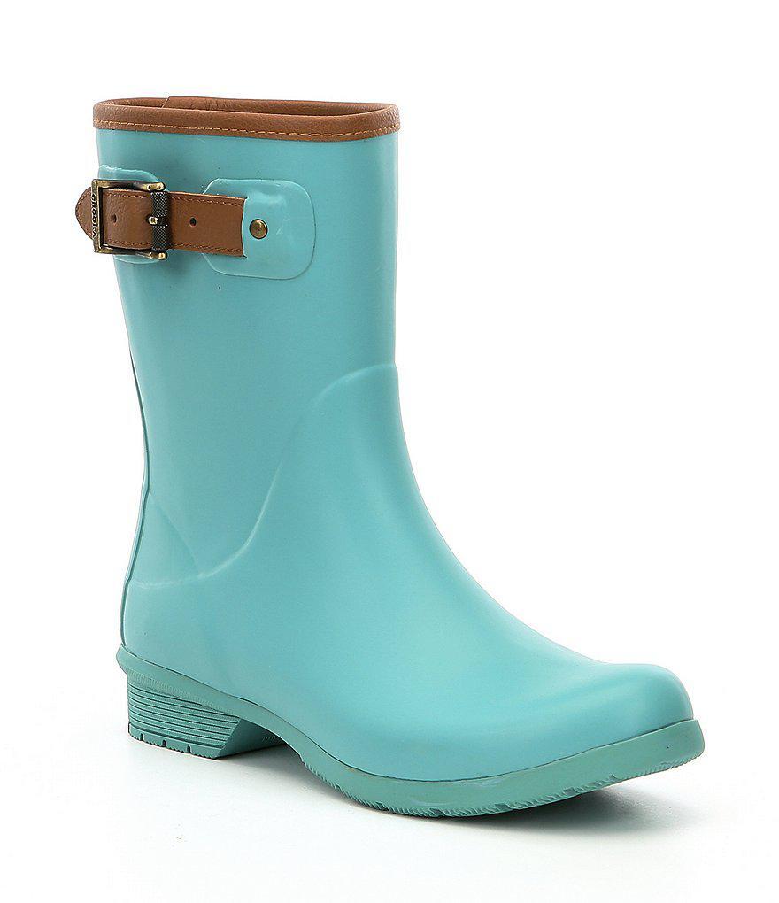 City Solid Mid Waterproof Rain Boots AILA0eKQ