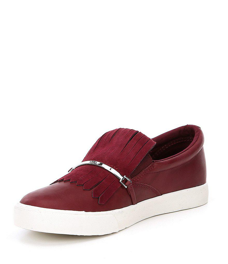 Lauren Ralph Lauren Reanna Kiltie Slip On Sneakers Ql6WgX5i