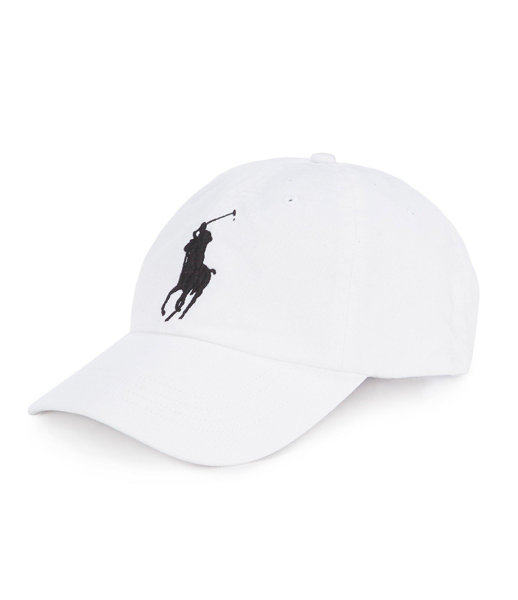 afc69249 Lyst - Polo Ralph Lauren Cotton Chino Baseball Cap in White for Men ...