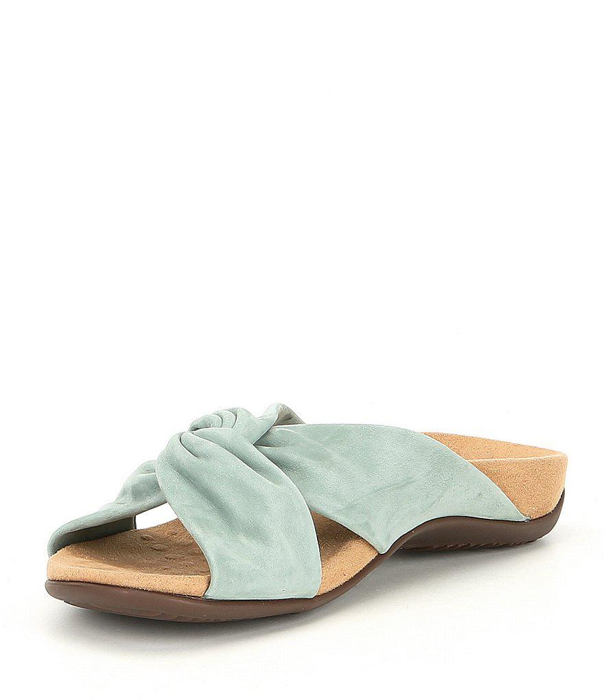 Rest Suede Shelley Slide Sandals 4glqrc