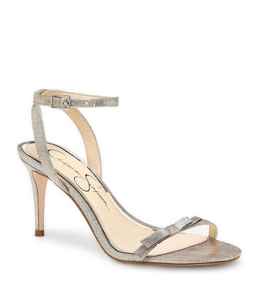 Jessica Simpson Strappy High Heel With Ankle Strap L3YkqW9