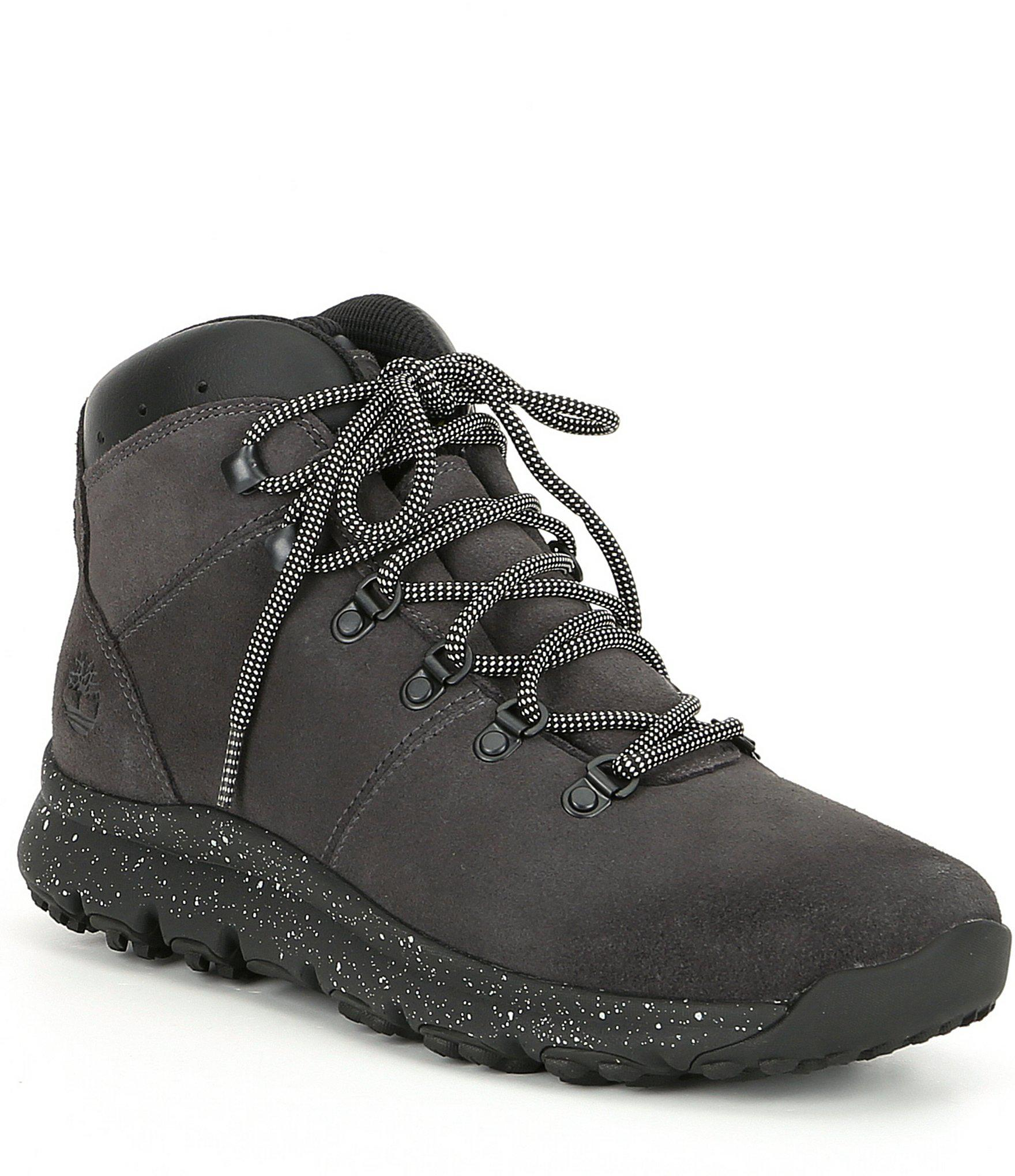 2abbd9396a5 Timberland Men s World Hiker Boots in Gray for Men - Lyst