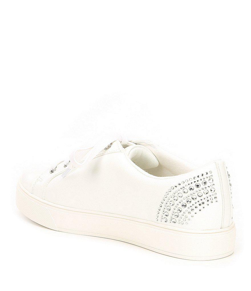 Bizcassa Rhinestone Jeweled Sneakers