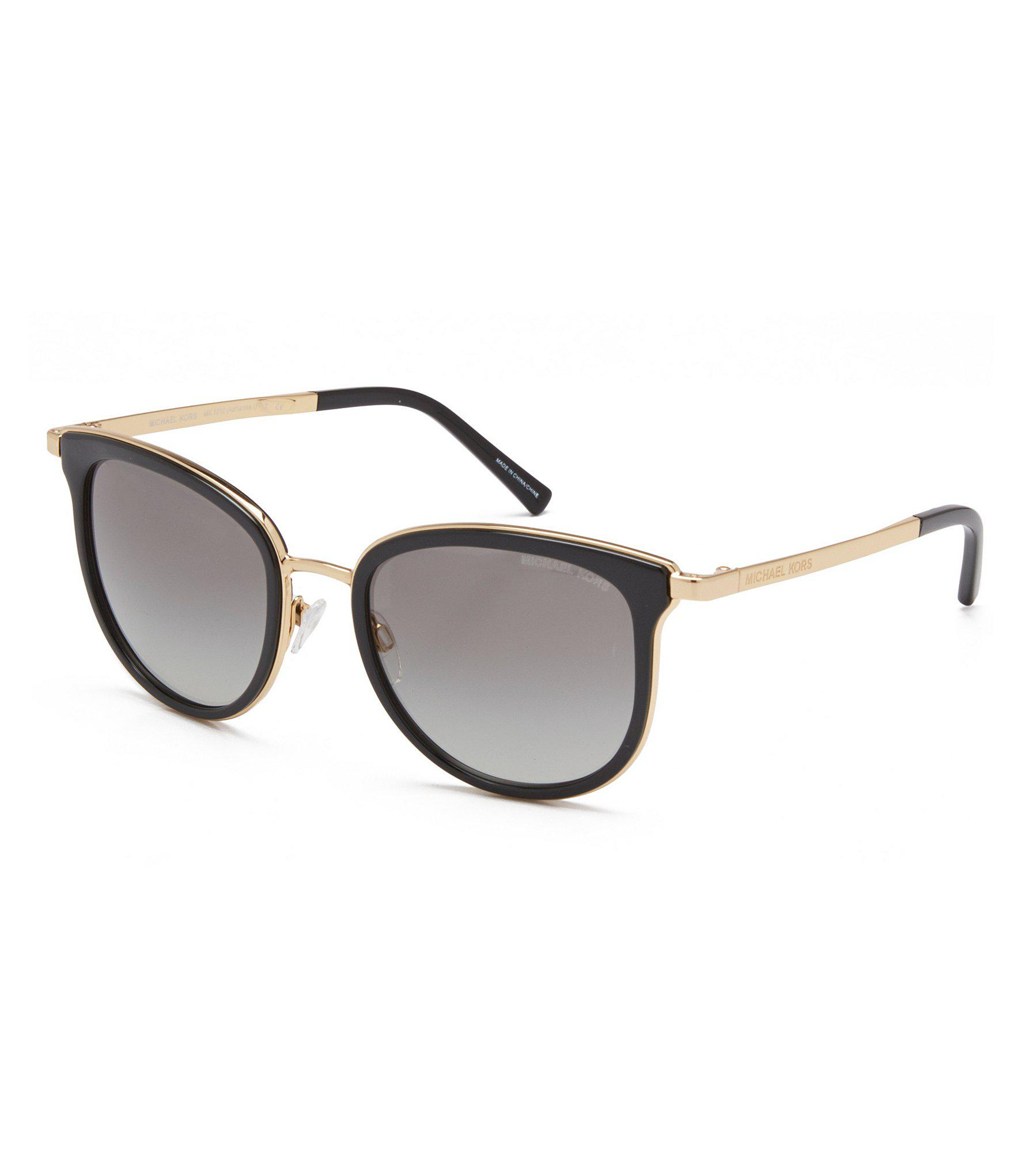 ec1fefa5ad0 Lyst - Michael Kors Gradient Sunglasses in Black