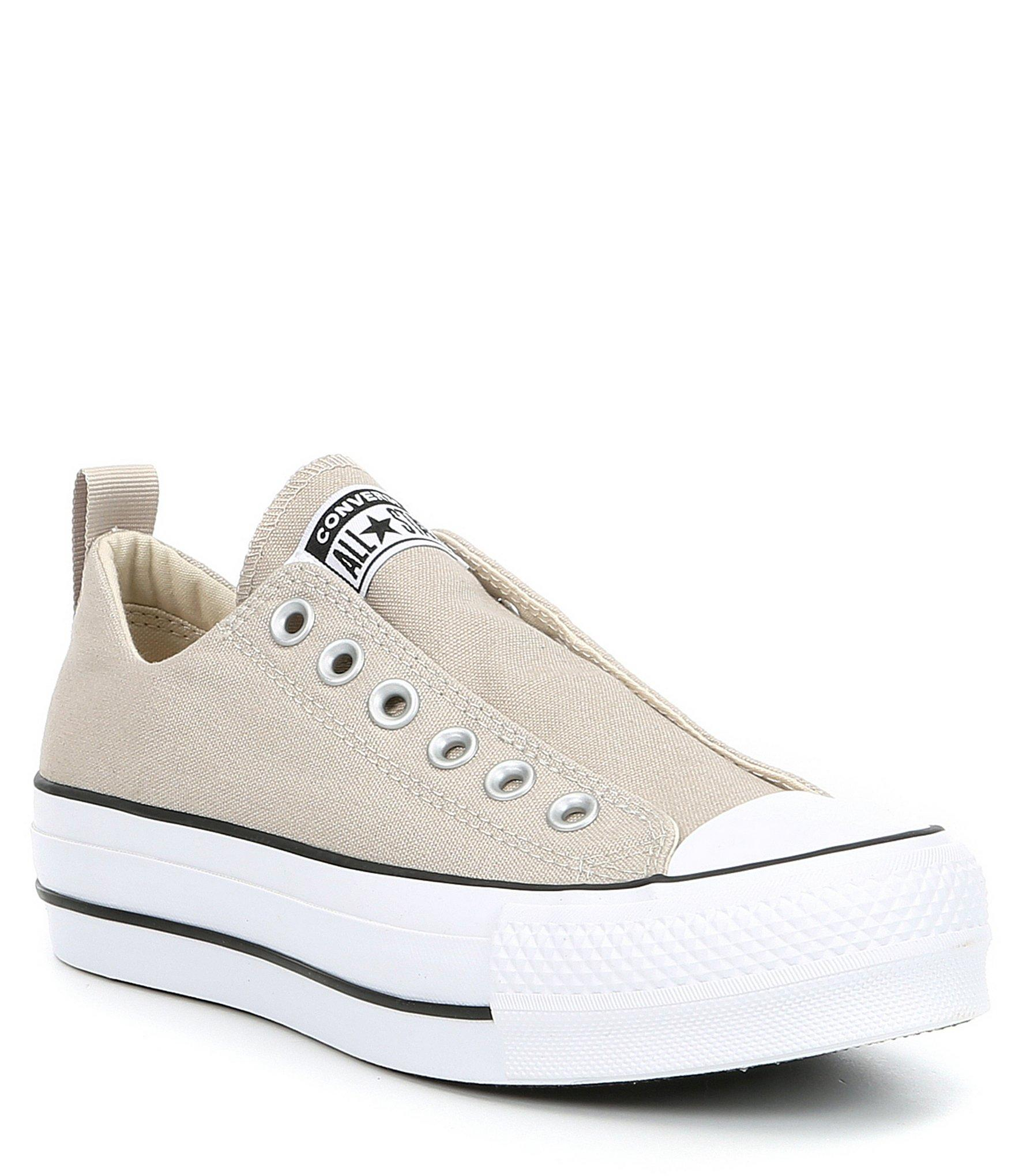 ae2d6c023192 Converse. White Women s Chuck Taylor All Star Laceless Platform Sneakers