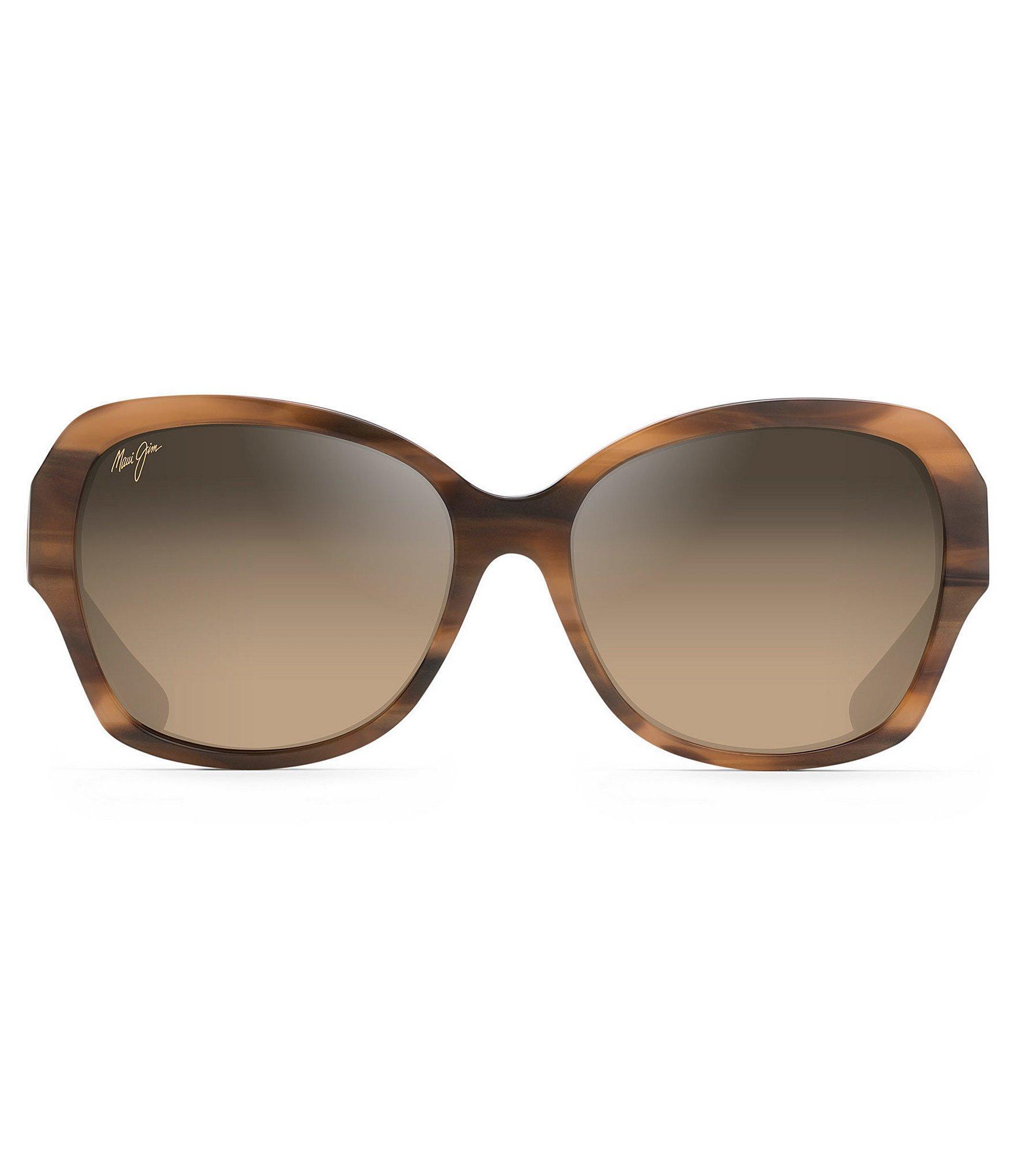 bf9cbfaf9ac1 Maui Jim - Brown Swaying Palms Polarized Fashion Sunglasses - Lyst. View  fullscreen