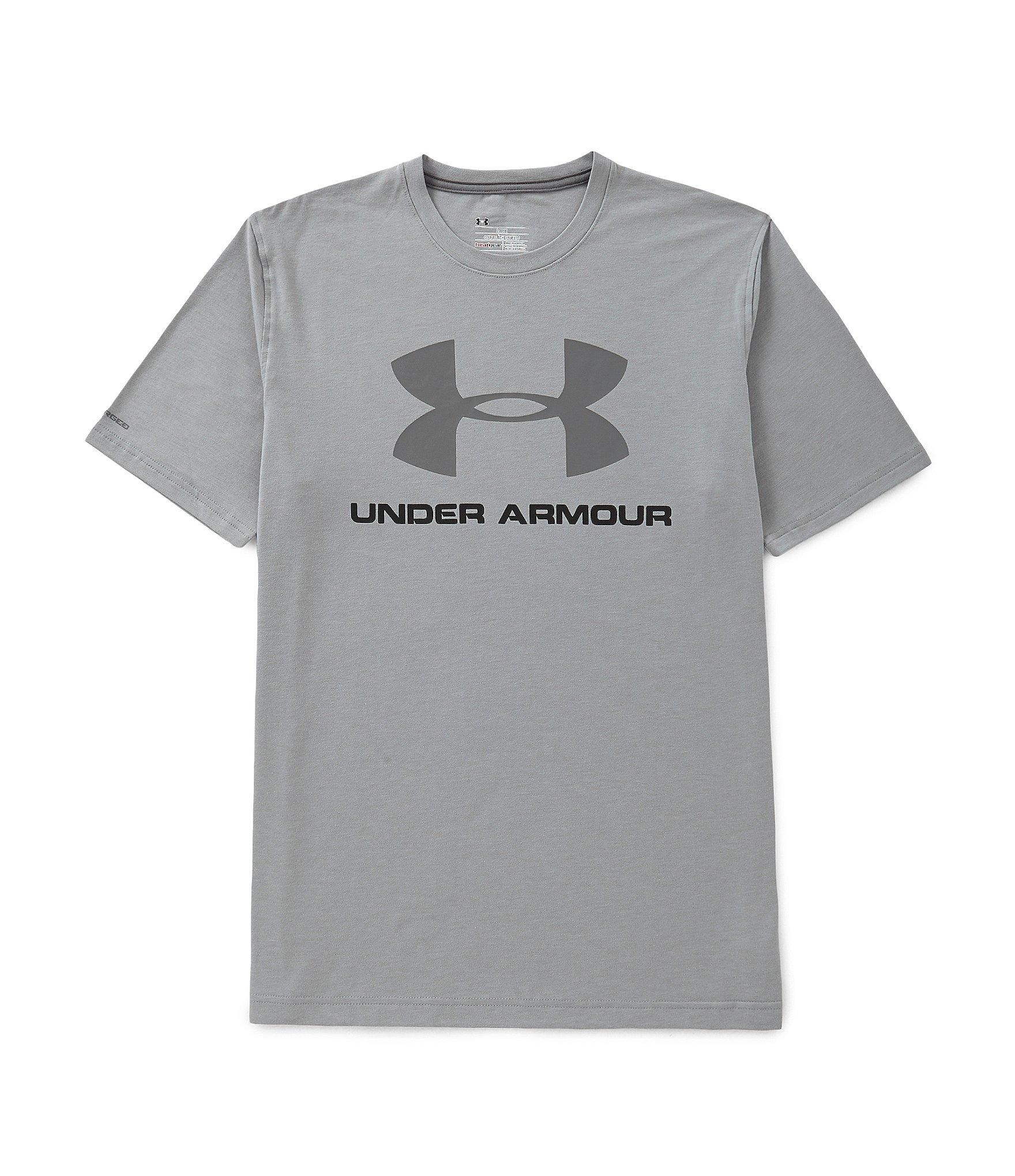 Gray Under Armour Symbol