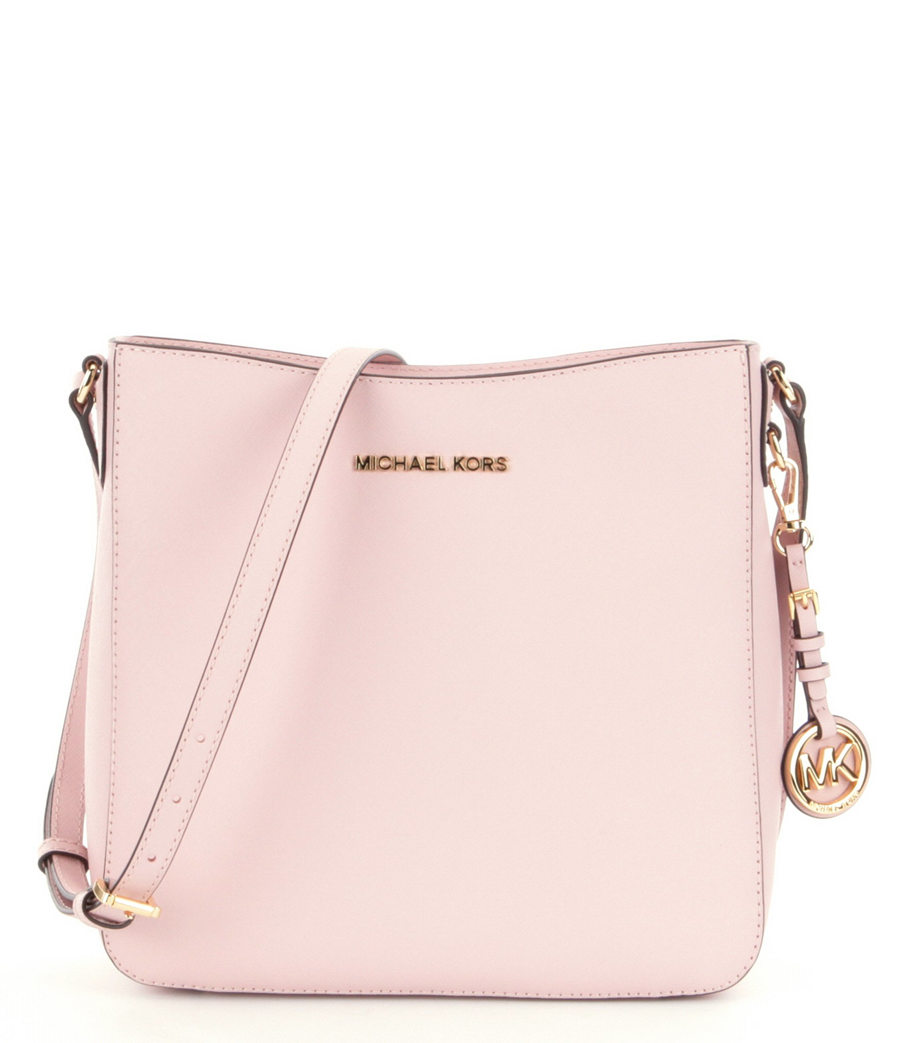 2ce9943a4cfa MICHAEL Michael Kors Jet Set Travel Large Messenger Bag in Pink - Lyst