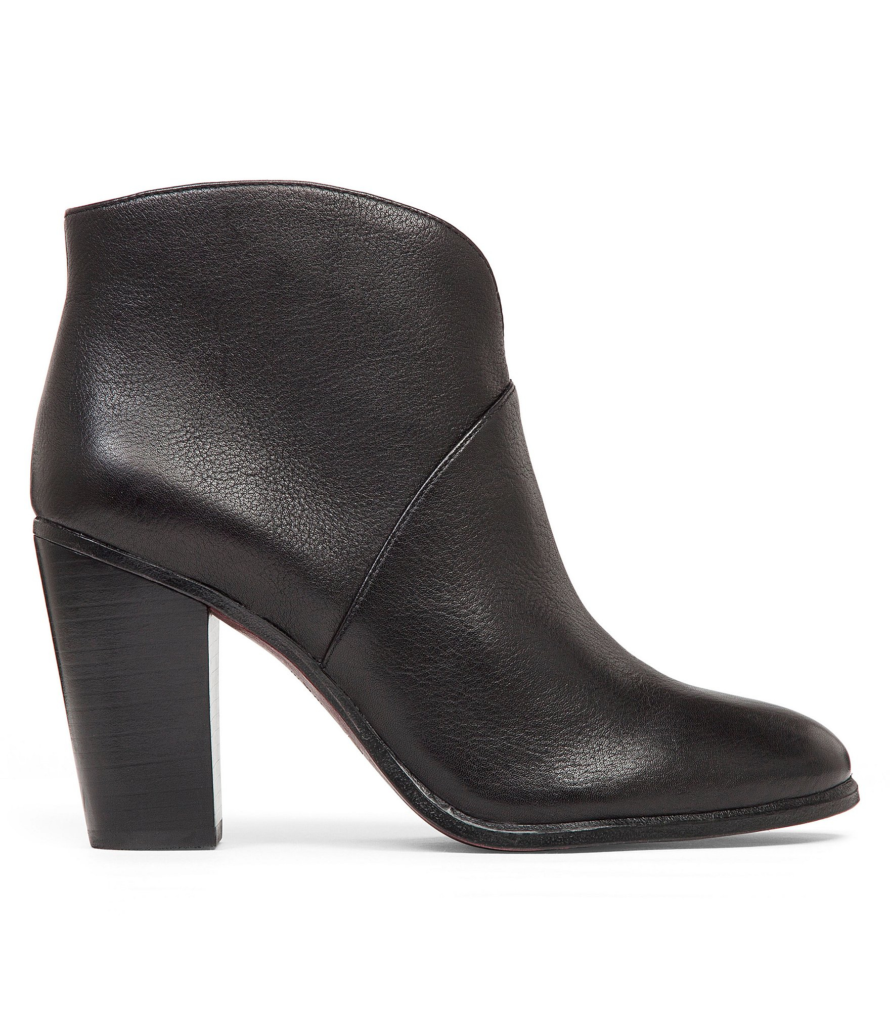 Lyst - Vince camuto Franell Leather Booties in Black