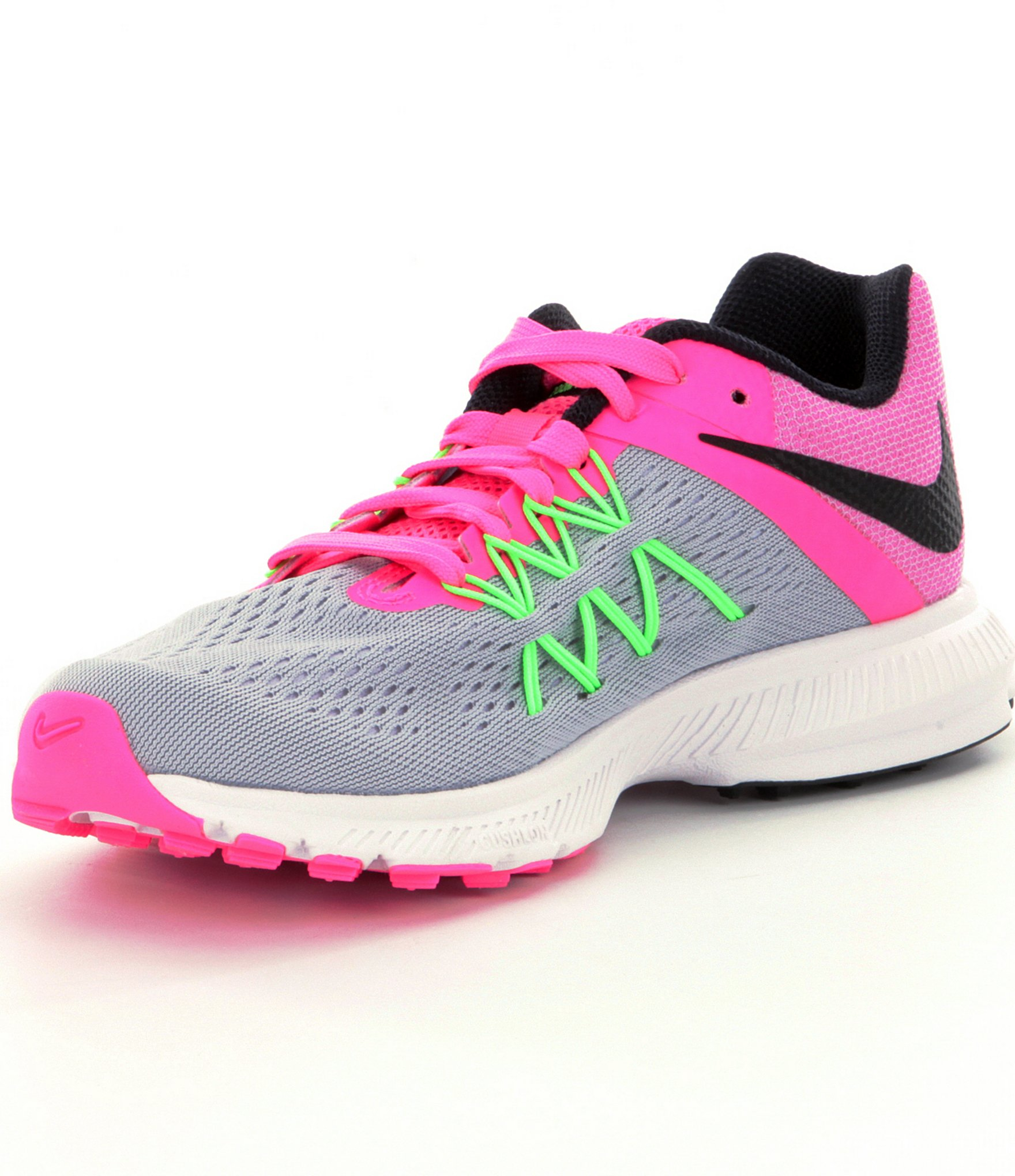 quality design 0834a 507dc ... nike zoom winflo 3 womens orange silver .