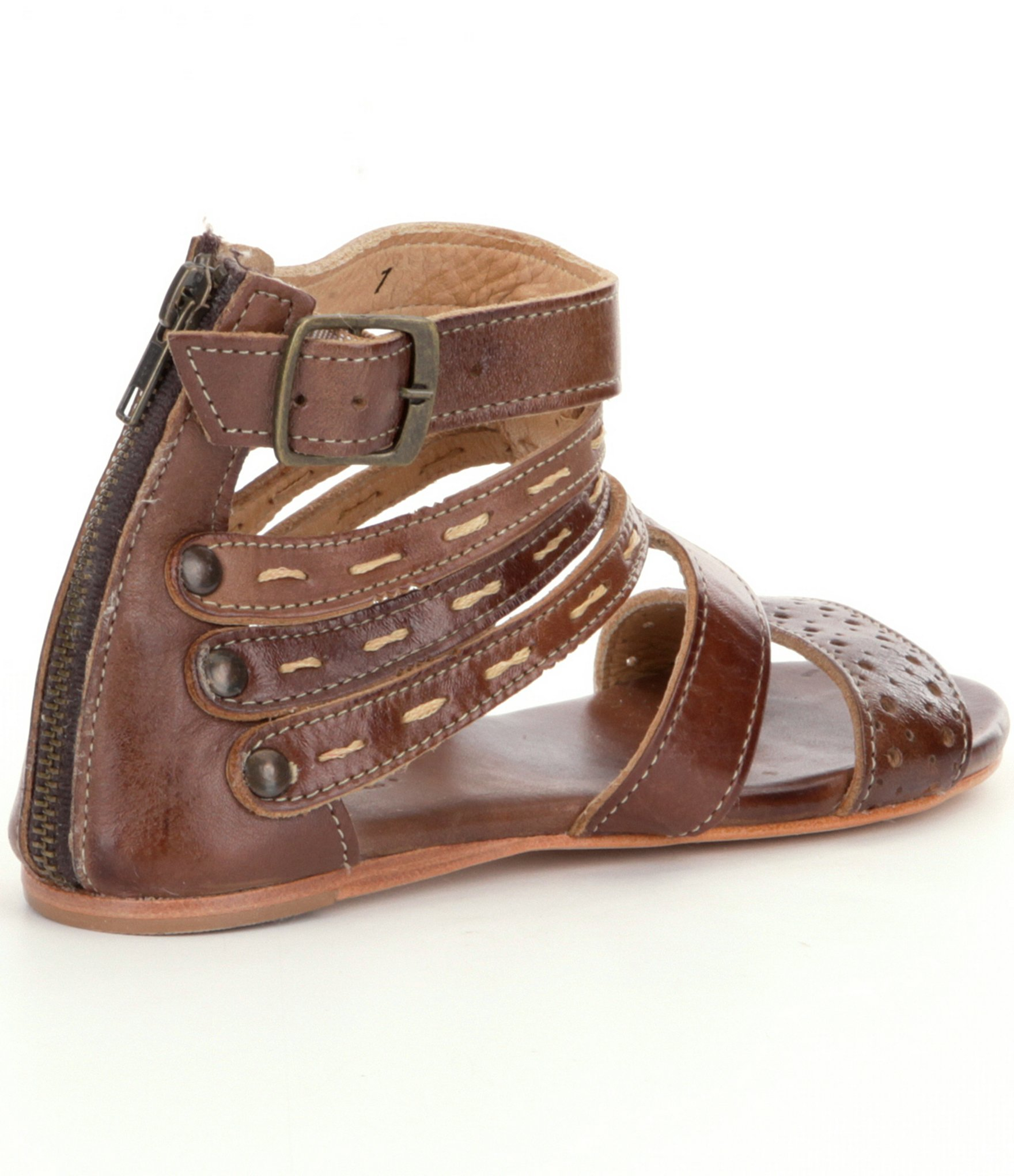 Lyst - Bed Stu Artemis Multi-Strap Sandals In Brown-8025