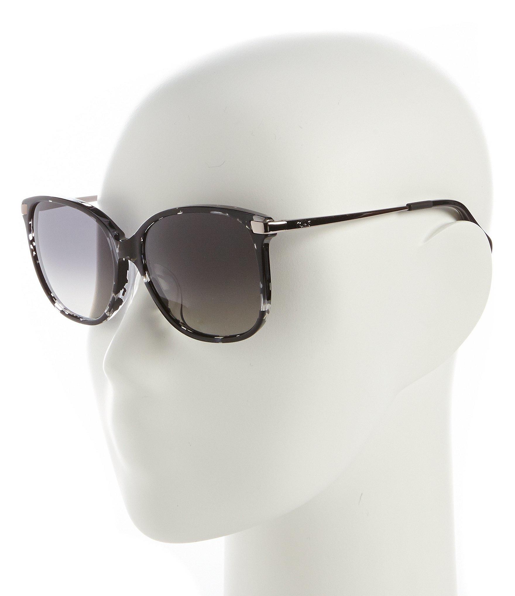 96e55d924054 Toms Sandela 201 Polarized Butterfly Sunglasses in Black