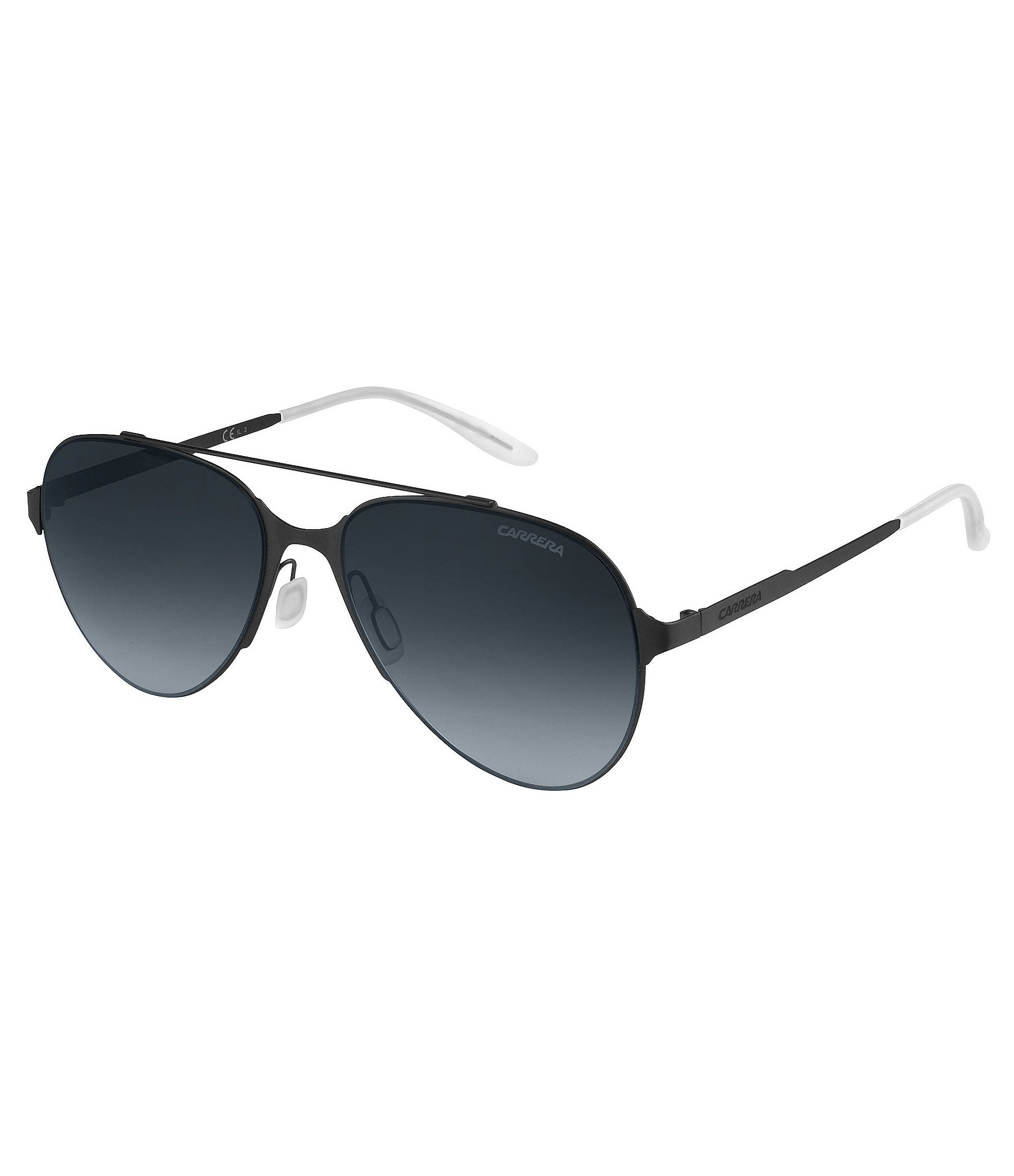 63627cc07359c Lyst - Carrera Double-bridge Aviator Sunglasses in Black for Men
