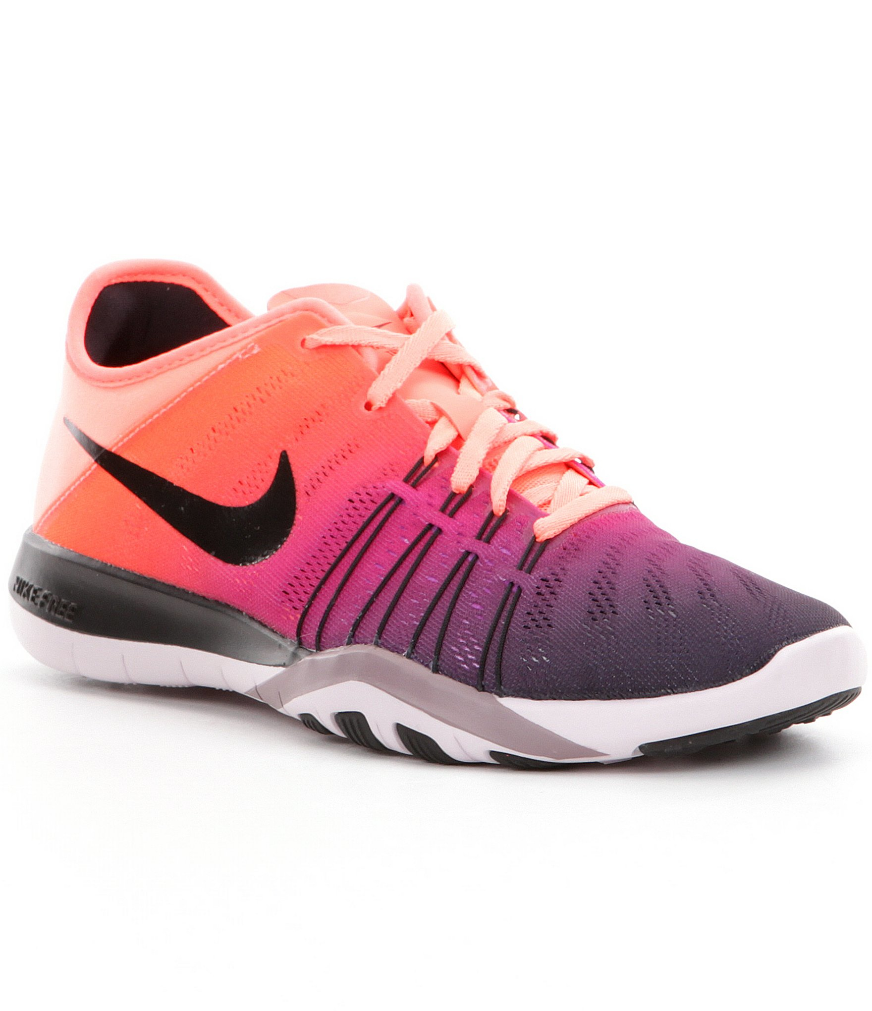 on sale 74064 e705e ... shop nike womens free tr 6 spectrum training shoes in pink lyst 8731a  809c5
