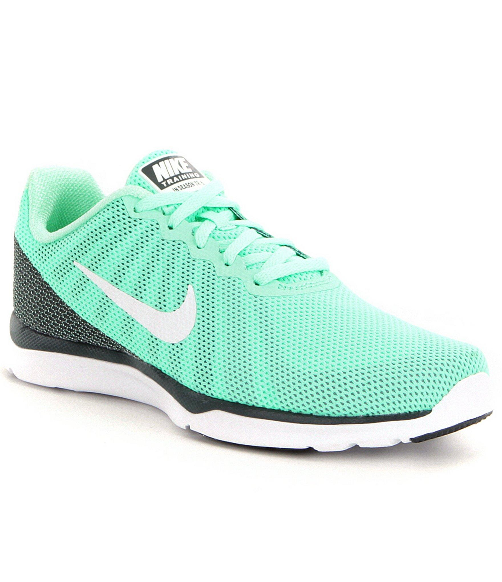ea4783aba0a2c Nike Women ́s In-season Tr 6 Training Shoes in Green - Lyst