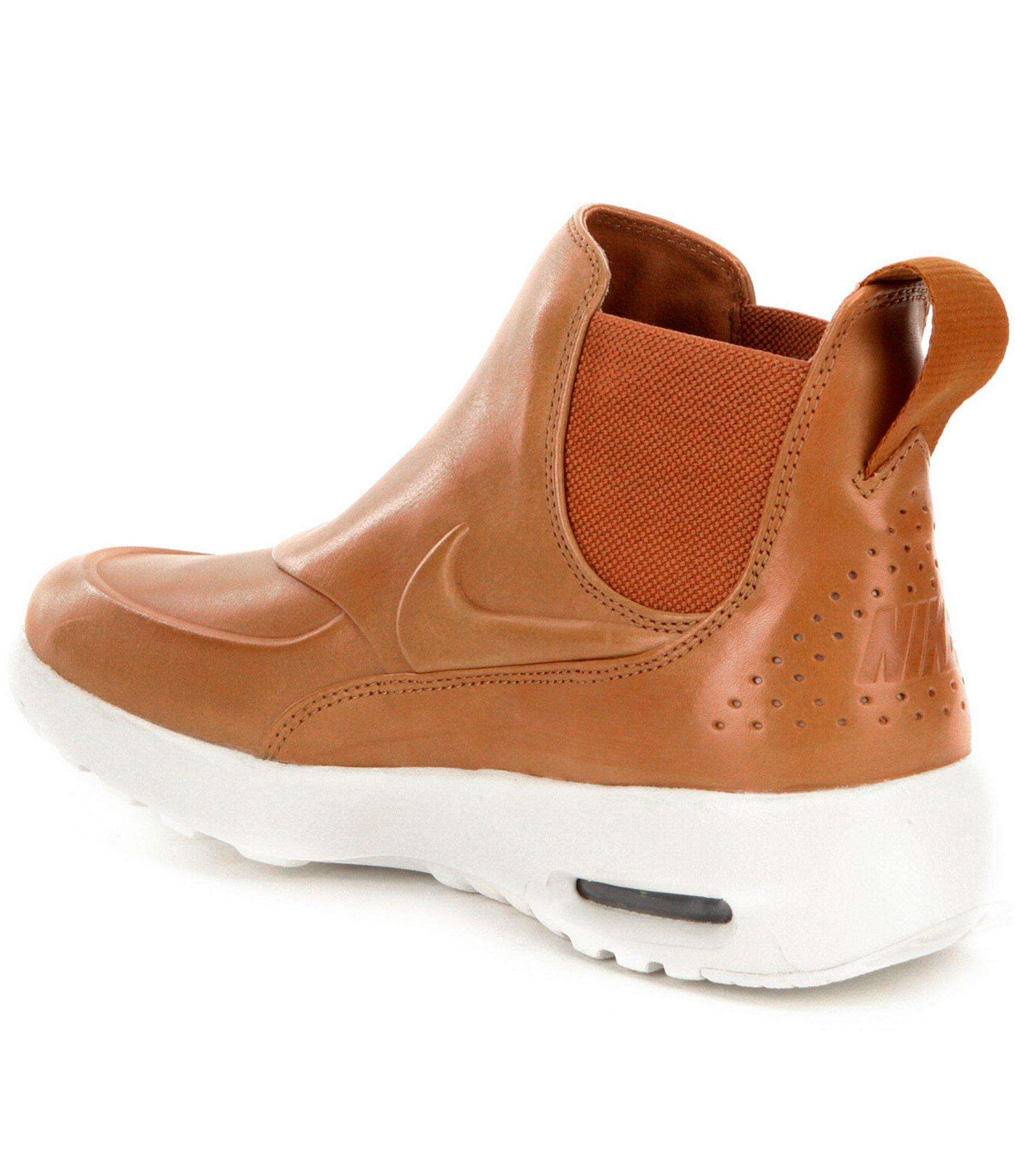 f913506fa8 Nike Women ́s Air Max Thea Mid-top Shoes in Brown - Lyst