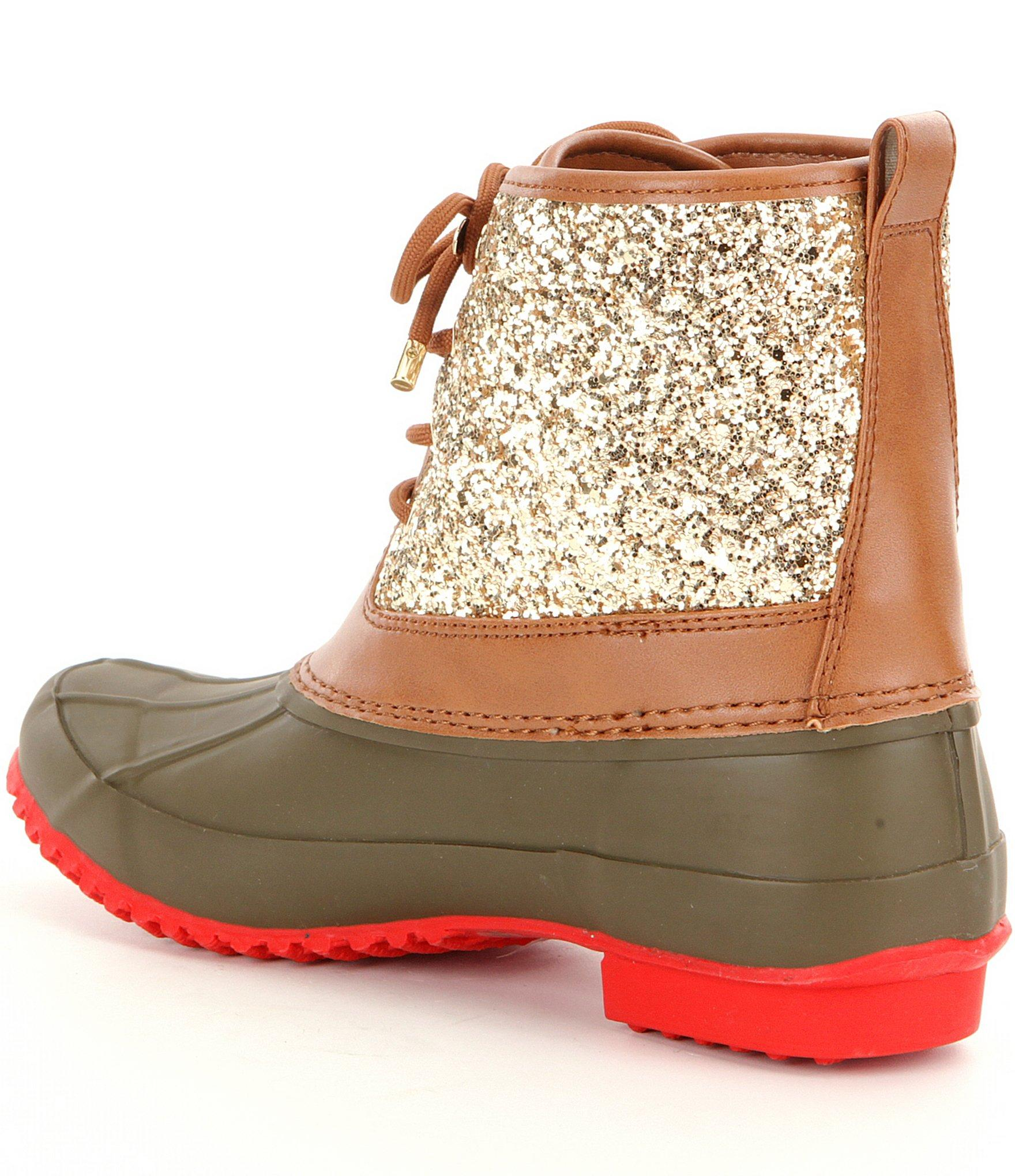 8d207a0444ca Womens Glitter Duck Boots - Best Picture Of Boot Imageco.Org