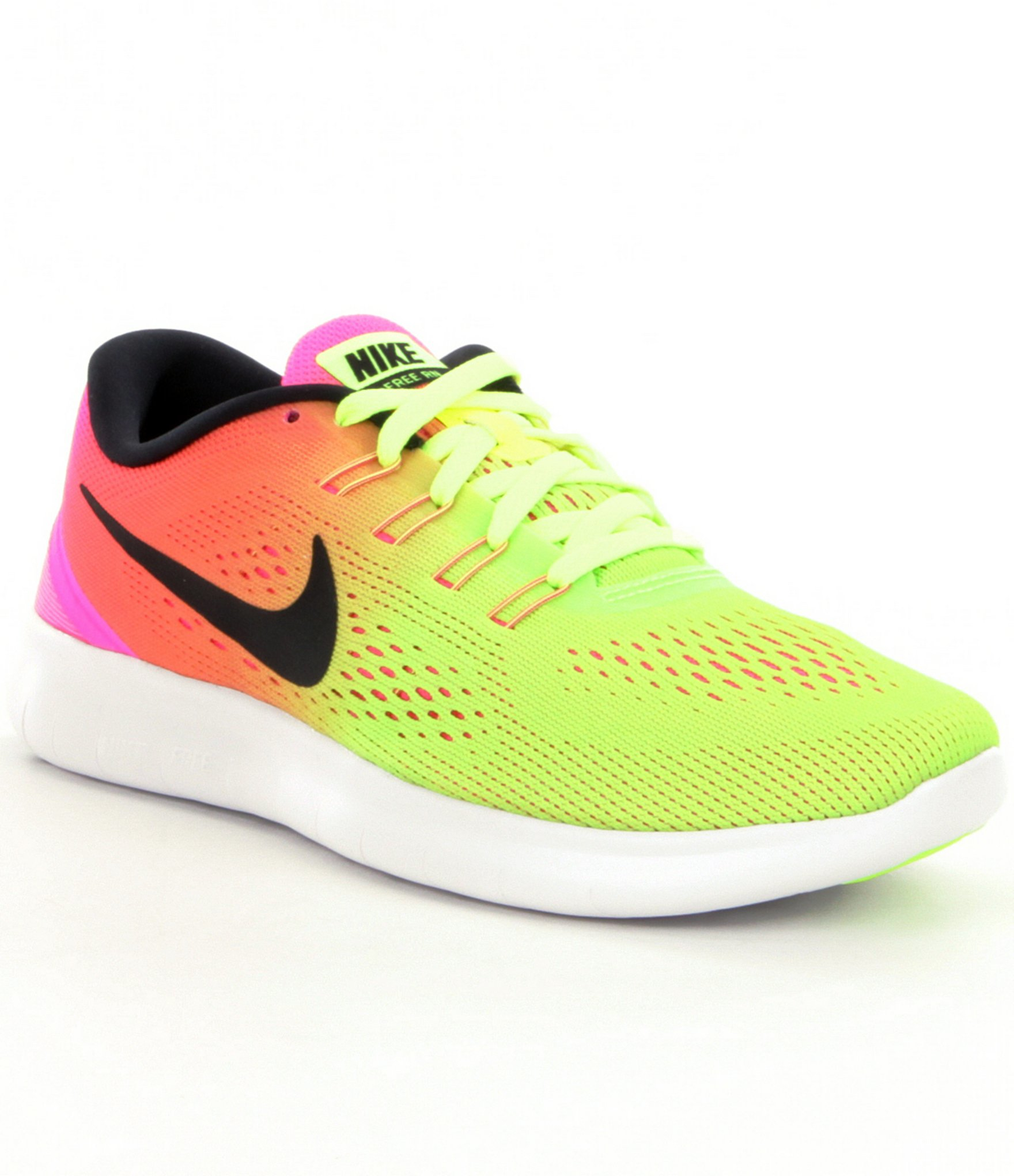 6eb45c4070f7 ... training shoes 6a8be c054e  coupon black fridaynike free run 5.0 womens  dillards free 4.0 flyknit grey volt green lyst nike