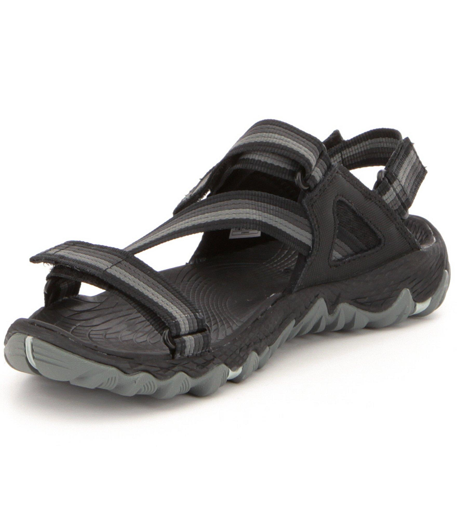 7324600a27fc Lyst - Merrell Women ́s All Out Blaze Hydro Hiking Sandals in Black