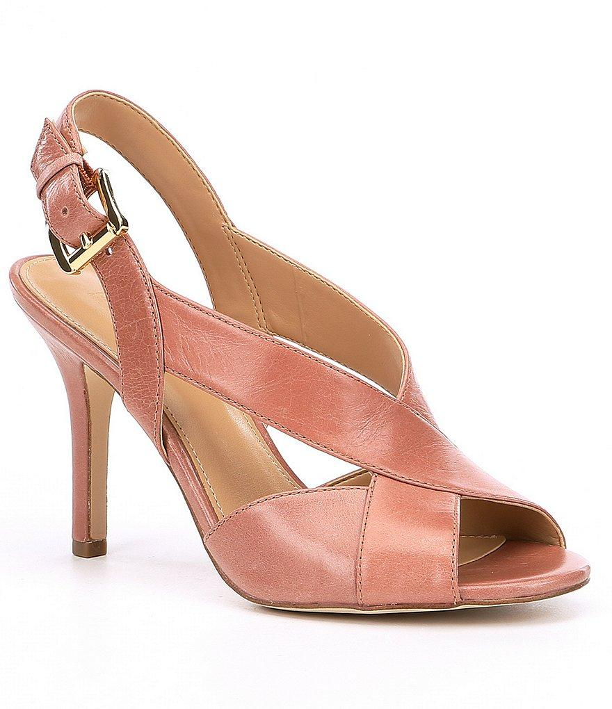 Becky Vintage Leather Dress Sandals FCj9Q