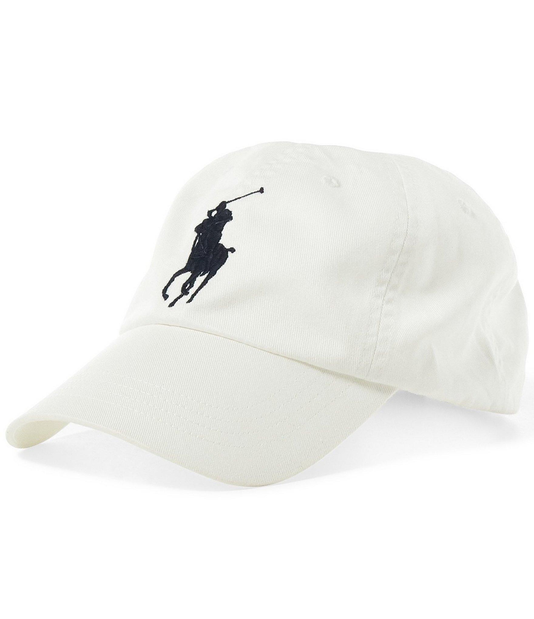 polo ralph lauren athletic twill cap in white for men. Black Bedroom Furniture Sets. Home Design Ideas
