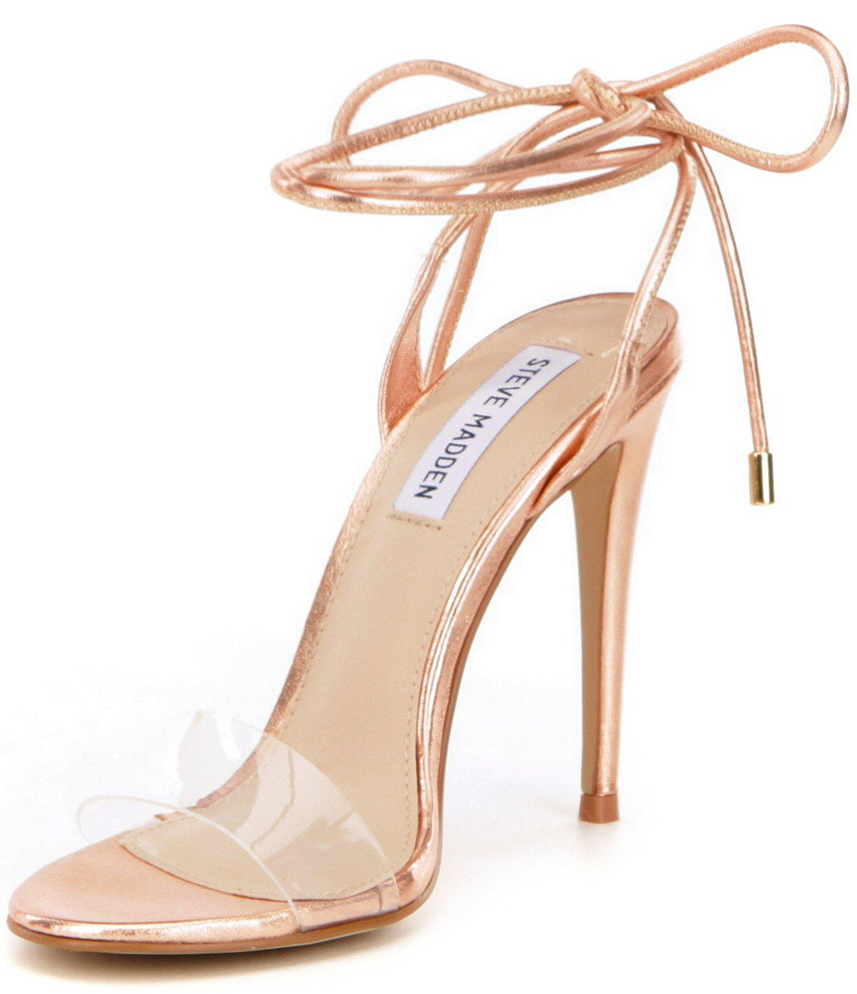 49fa6d9b2e4 Lyst - Steve Madden Lyla Ankle Tie Dress Sandals