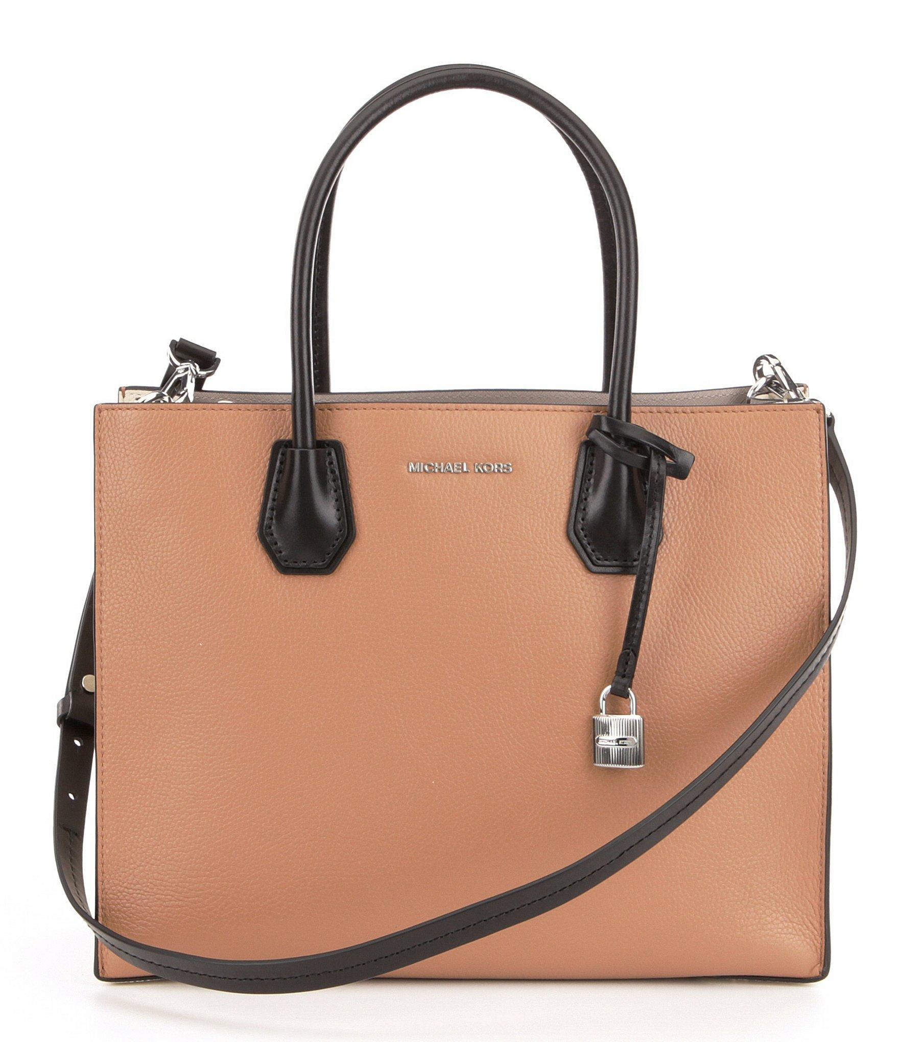 e795497a7090 Lyst - MICHAEL Michael Kors Studio Mercer Color Block Large ...