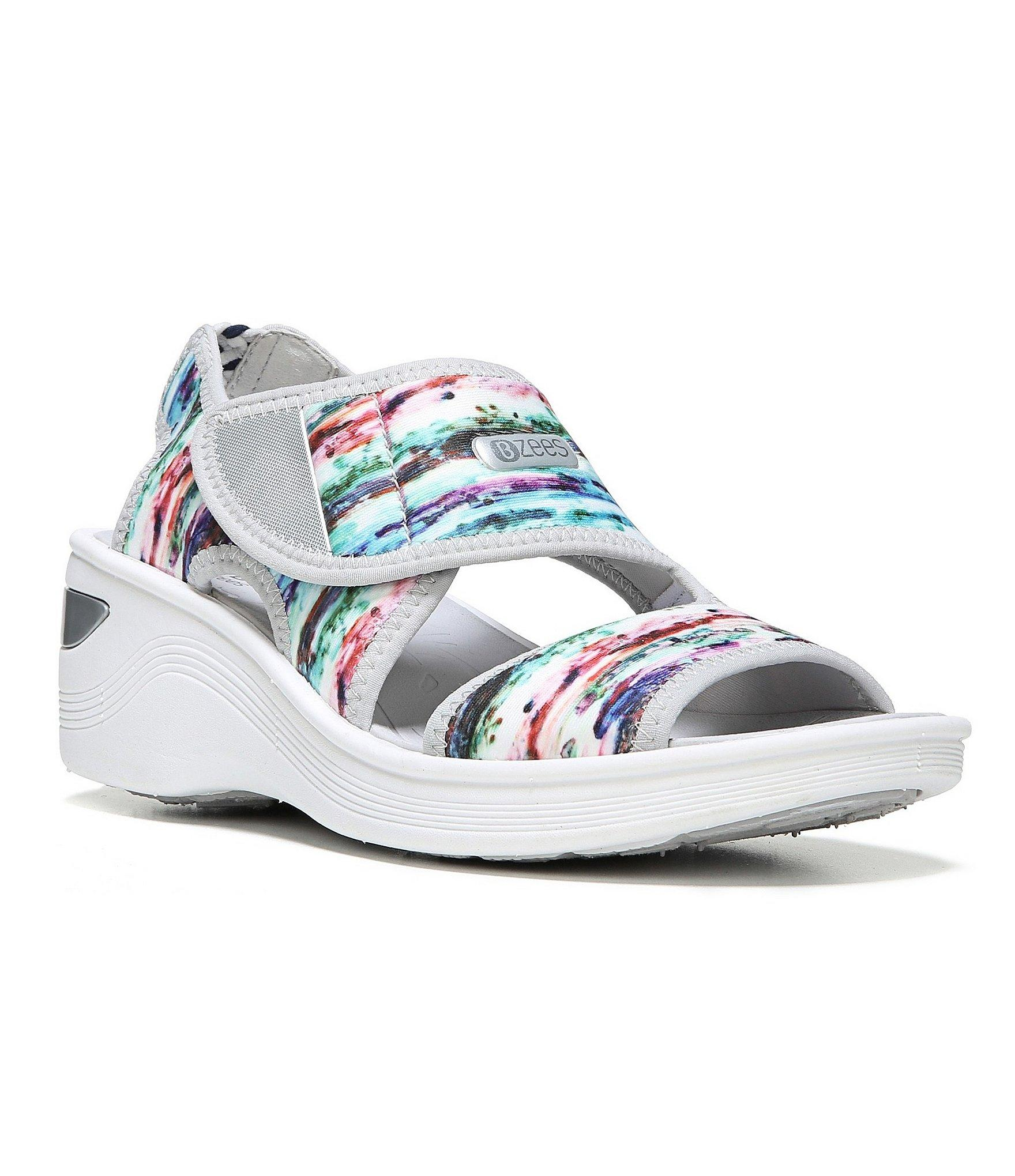 Lyst Bzees Aloha Banded Shoes In Blue