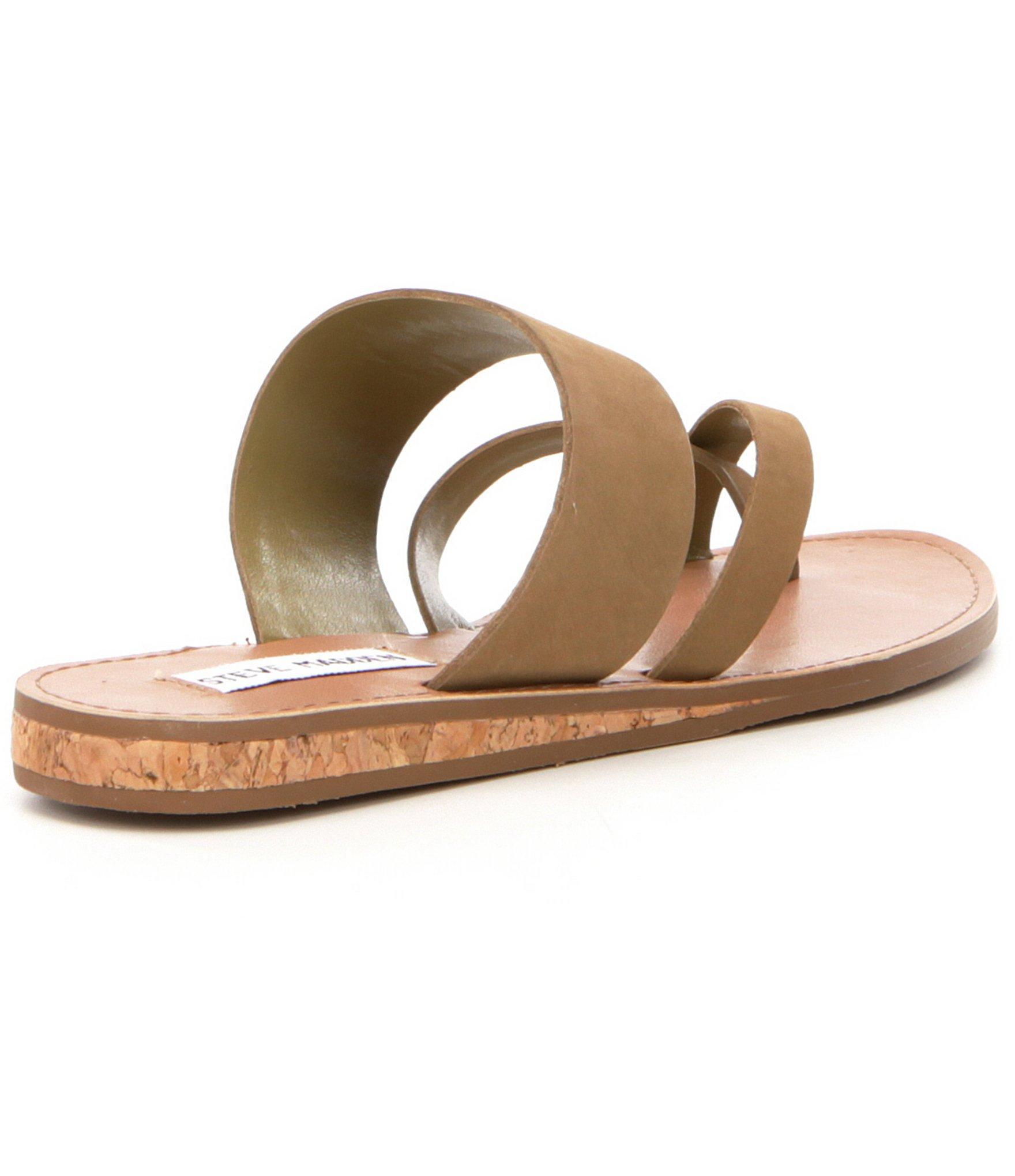 b00d94ebadbc Lyst - Steve Madden Henly Banded Nubuck Sandals