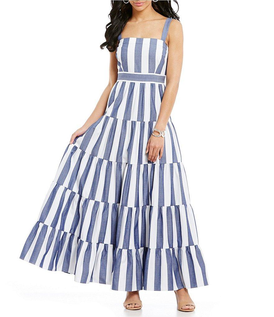 9fc0c25875 Gallery. Previously sold at  Dillard s · Women s Tiered Dresses Women s Eliza  J Maxi