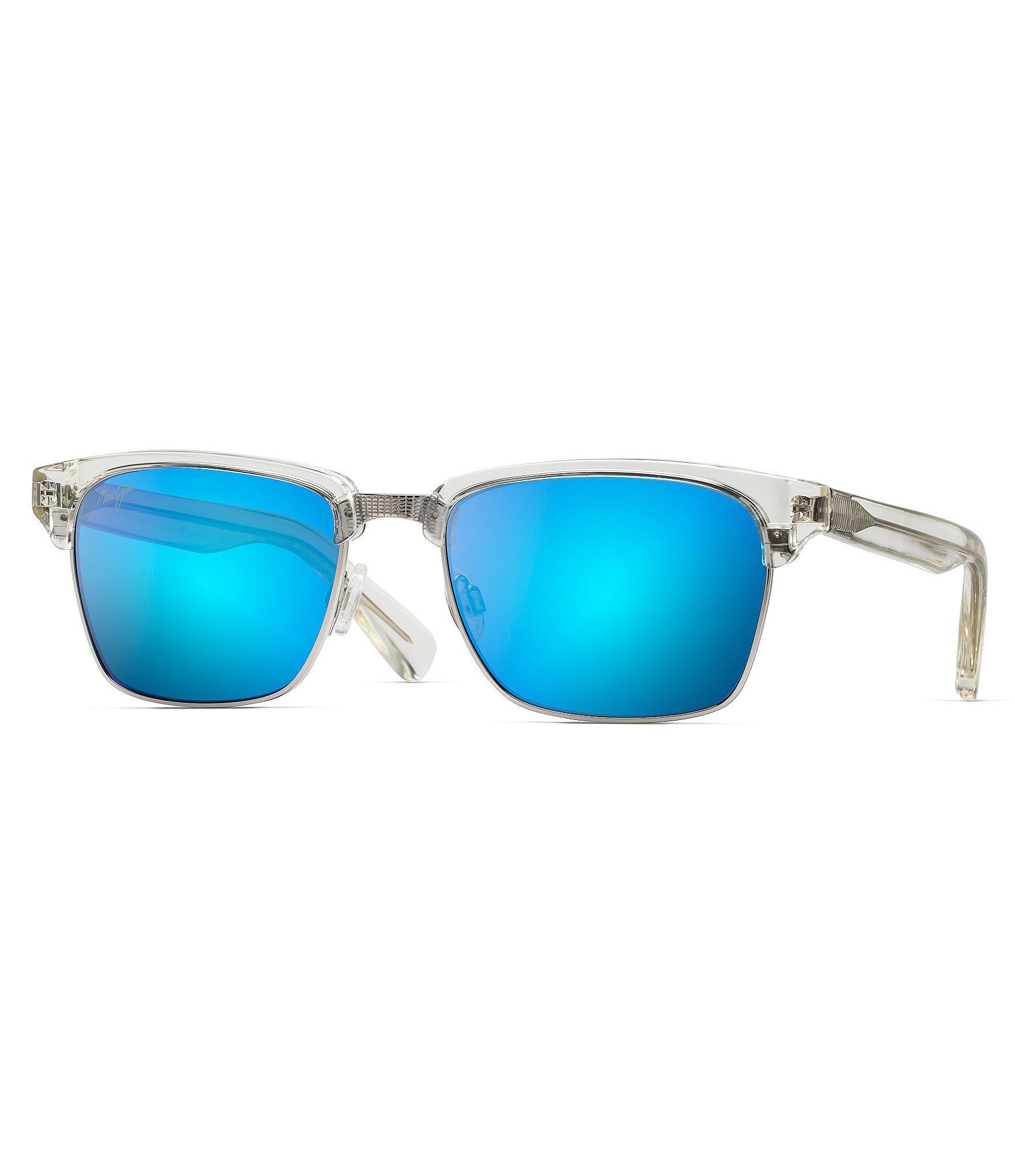 d08c2391b46 Lyst - Maui Jim Kawika Crystal Polarized Sunglasses in Blue for Men
