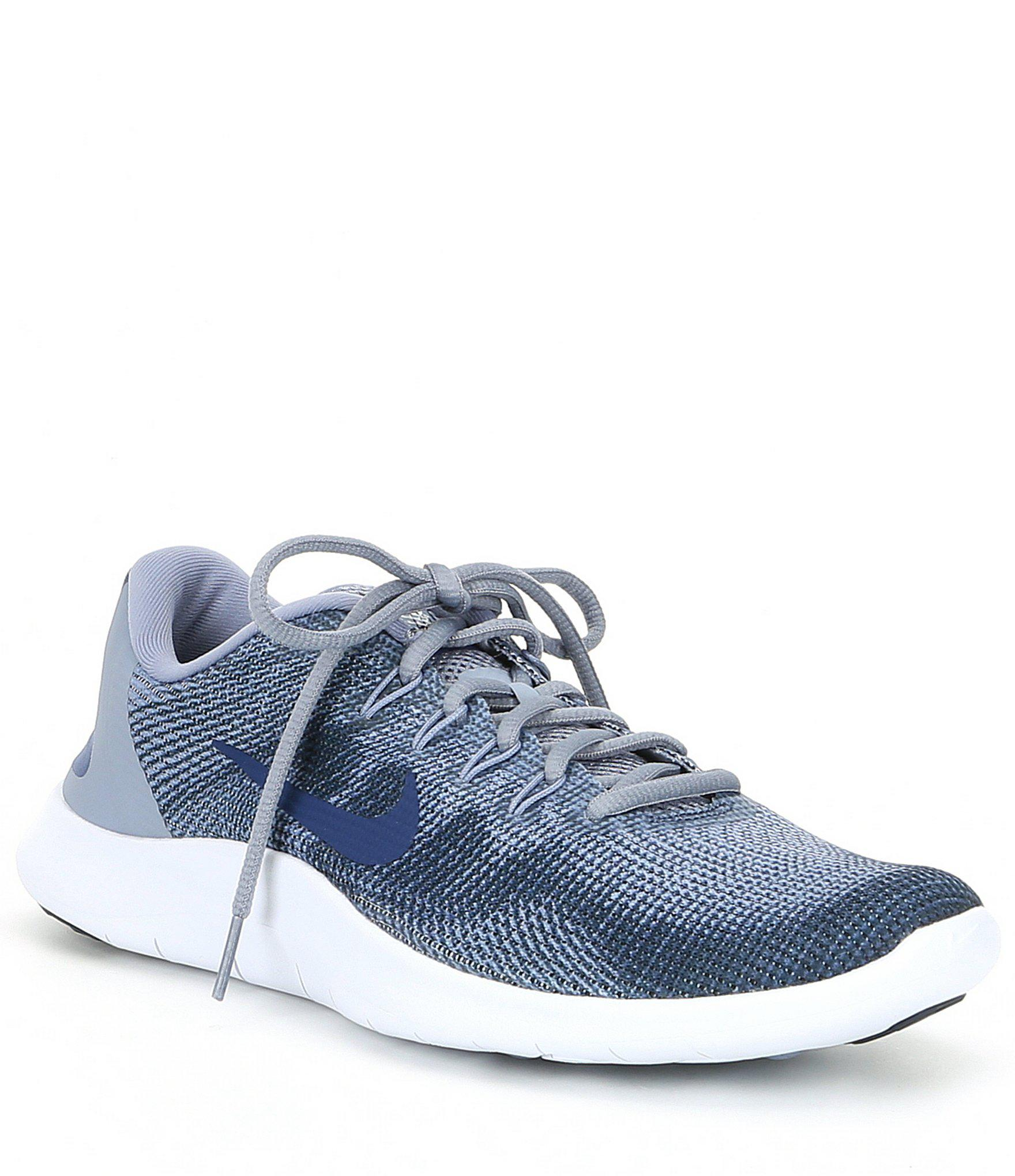 4c9b9d941784a Lyst - Nike Men s Flex 2018 Rn Running Shoes in Blue for Men