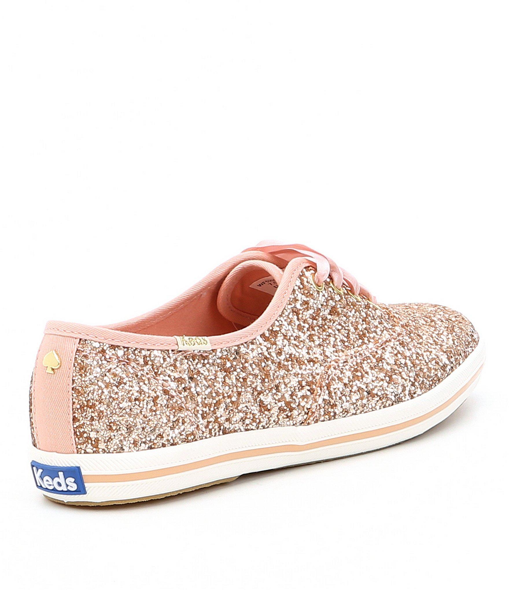 5bd63803fae1 Kate Spade - Metallic Keds X Glitter Keds Sneakers - Lyst. View fullscreen