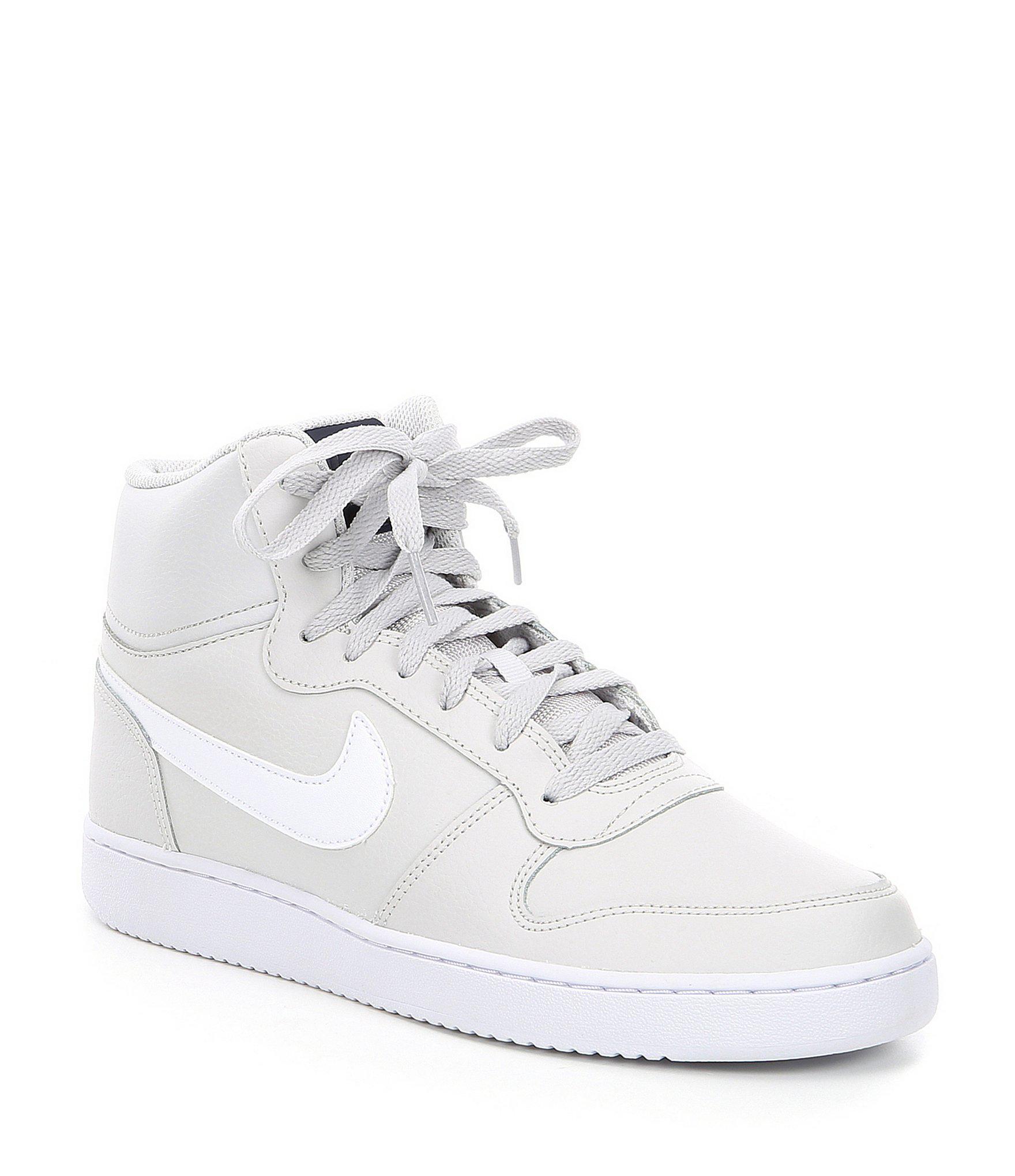 timeless design 5245e 79498 Nike Men s Ebernon High Top Sneaker in White for Men - Lyst