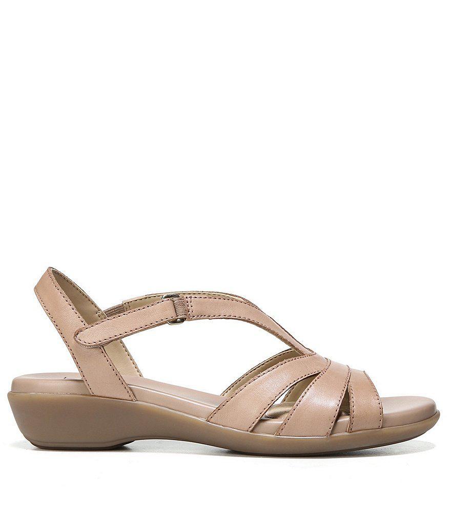 Nasim Banded Leather Sandals LgenLz