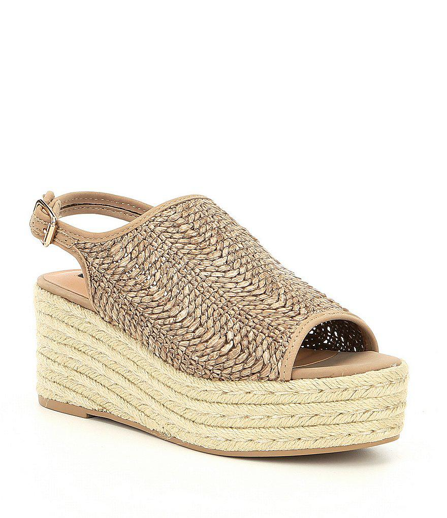 60eb5e62330 Steve Madden Steven By Courage Espadrille Wedge Sandals - Lyst