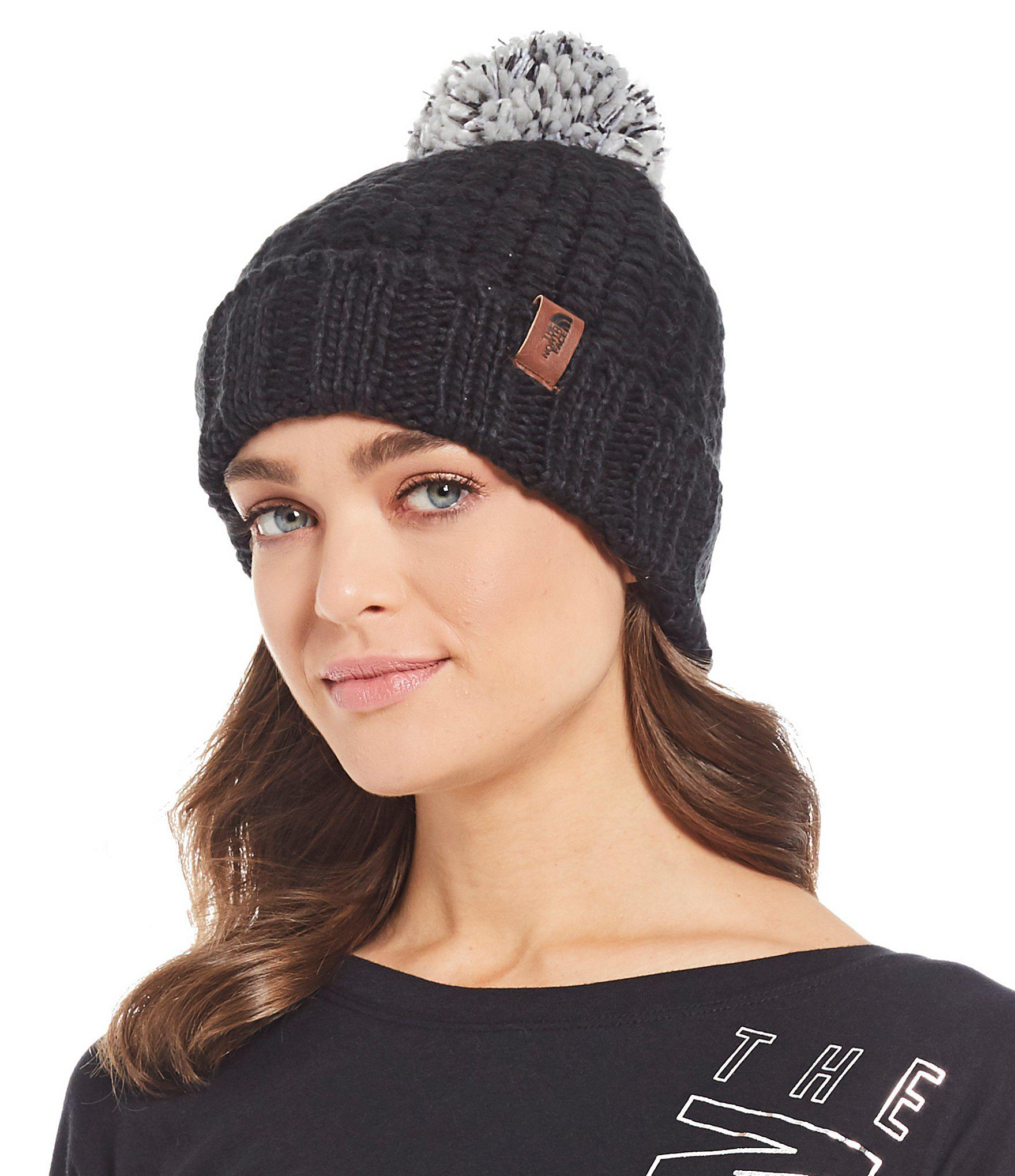 ca632465 The North Face Ladies' Cozy Chunky Beanie in Black - Lyst