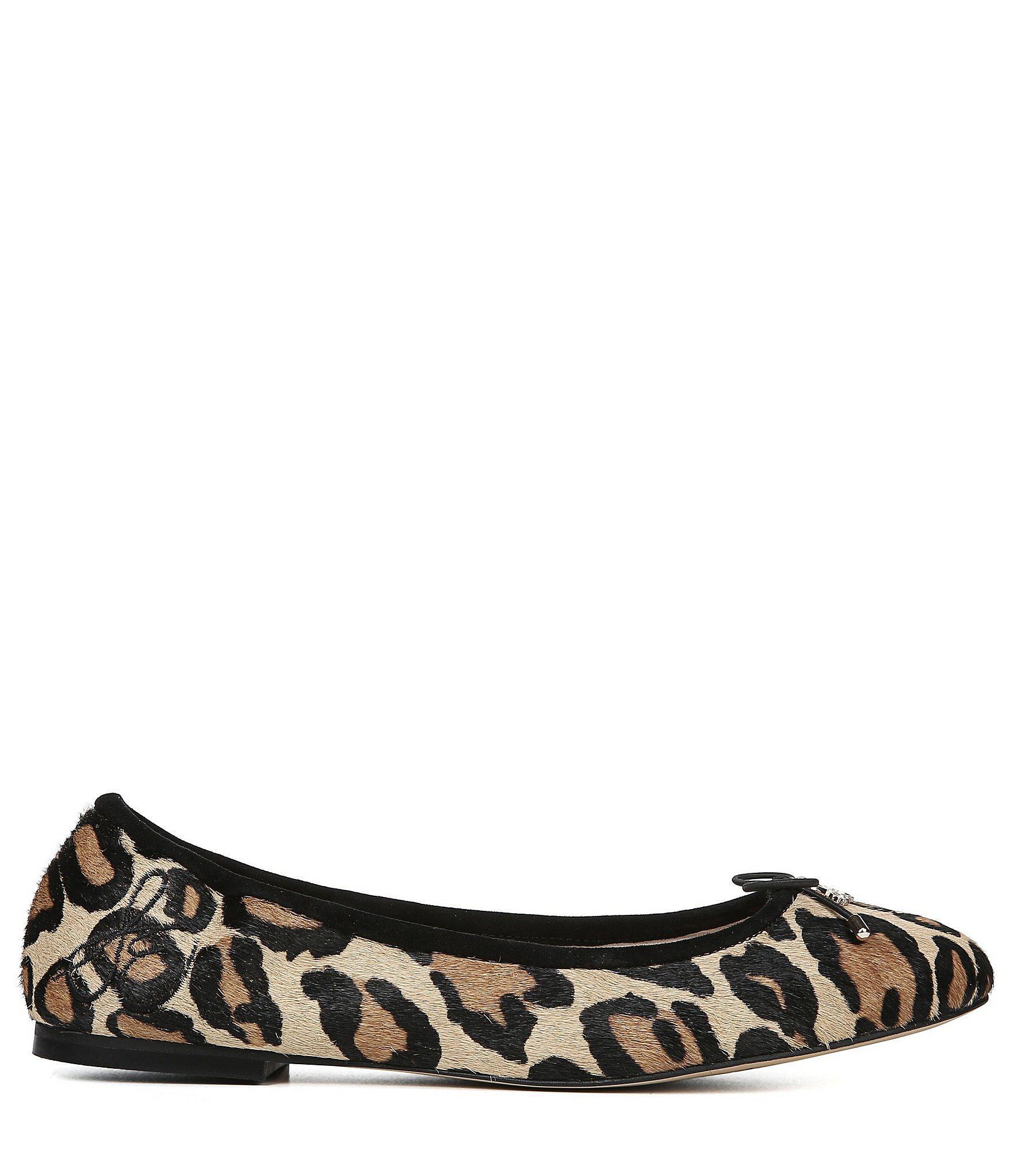 fdf62d903614ad Sam Edelman - Brown Felicia Leopard-print Flats - Lyst. View fullscreen