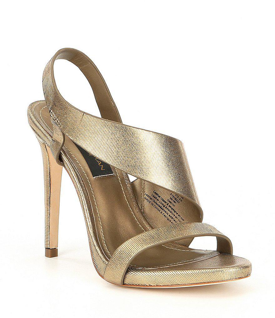 Sharon Metallic Dress Sandals 41UWL