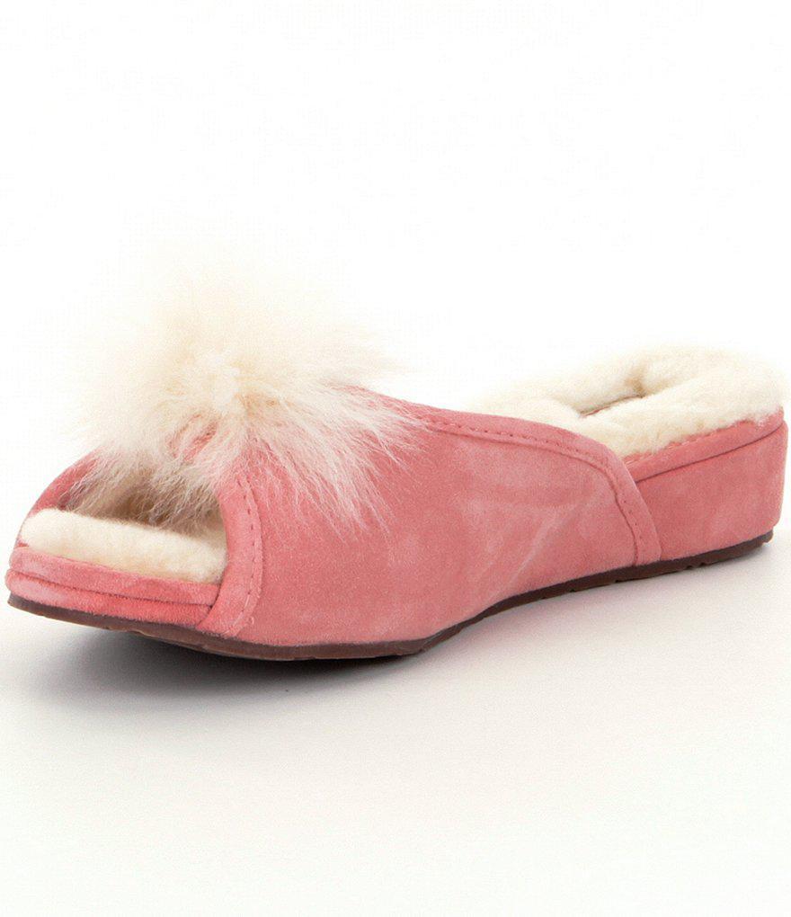 b68c5ebb50b Lyst - UGG ® Yvett Slippers in Pink