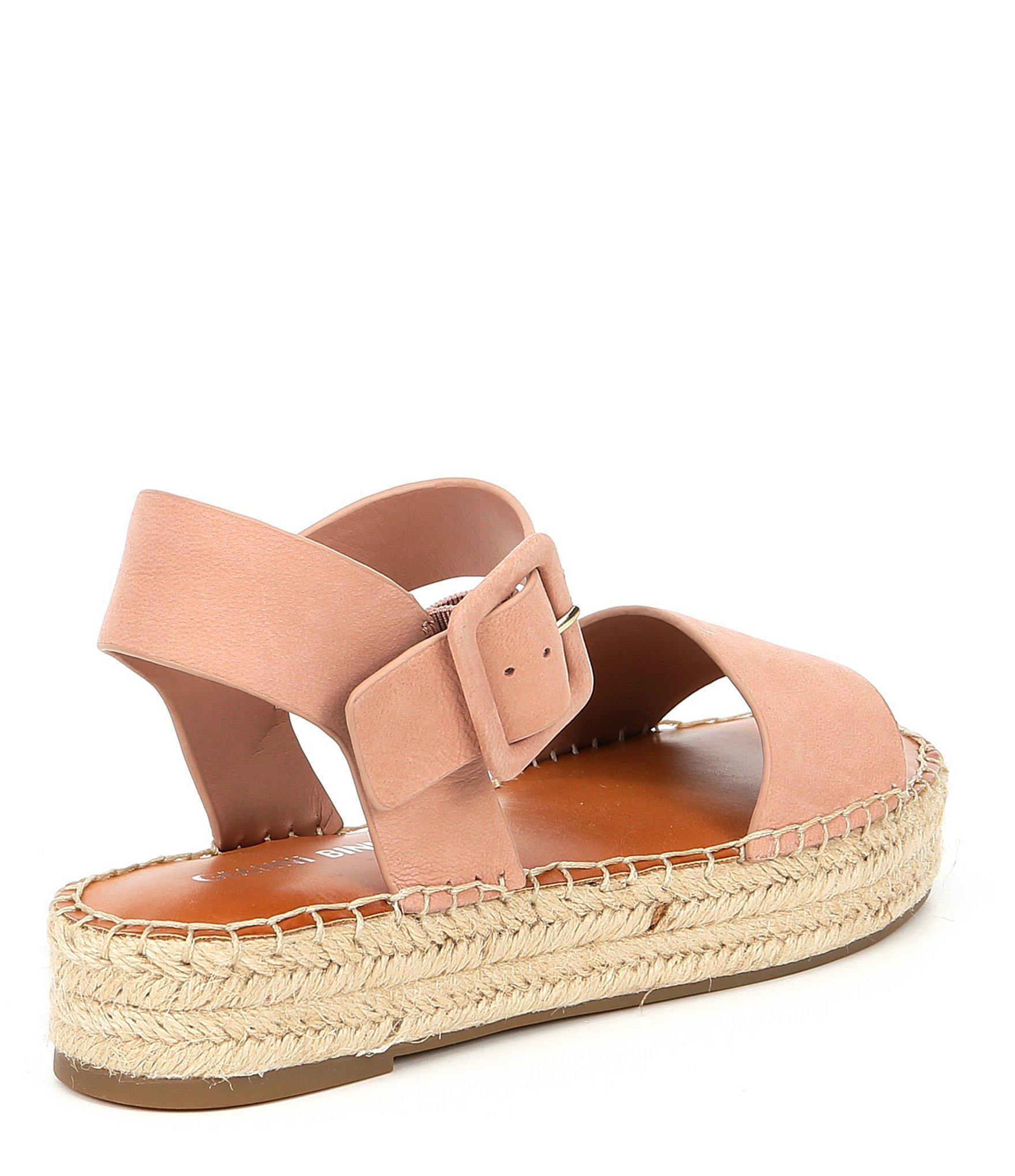 b29a91163897 Gianni Bini - Multicolor Kaygan Nubuck Leather Espadrille Flatform Sandals  - Lyst. View fullscreen