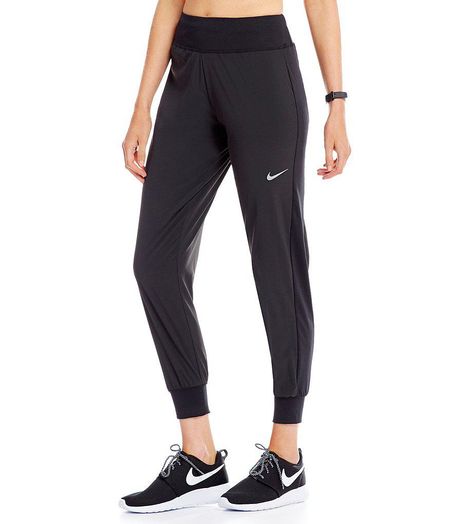 75961b40662f Lyst - Nike Flex Essential Running Pants in Black